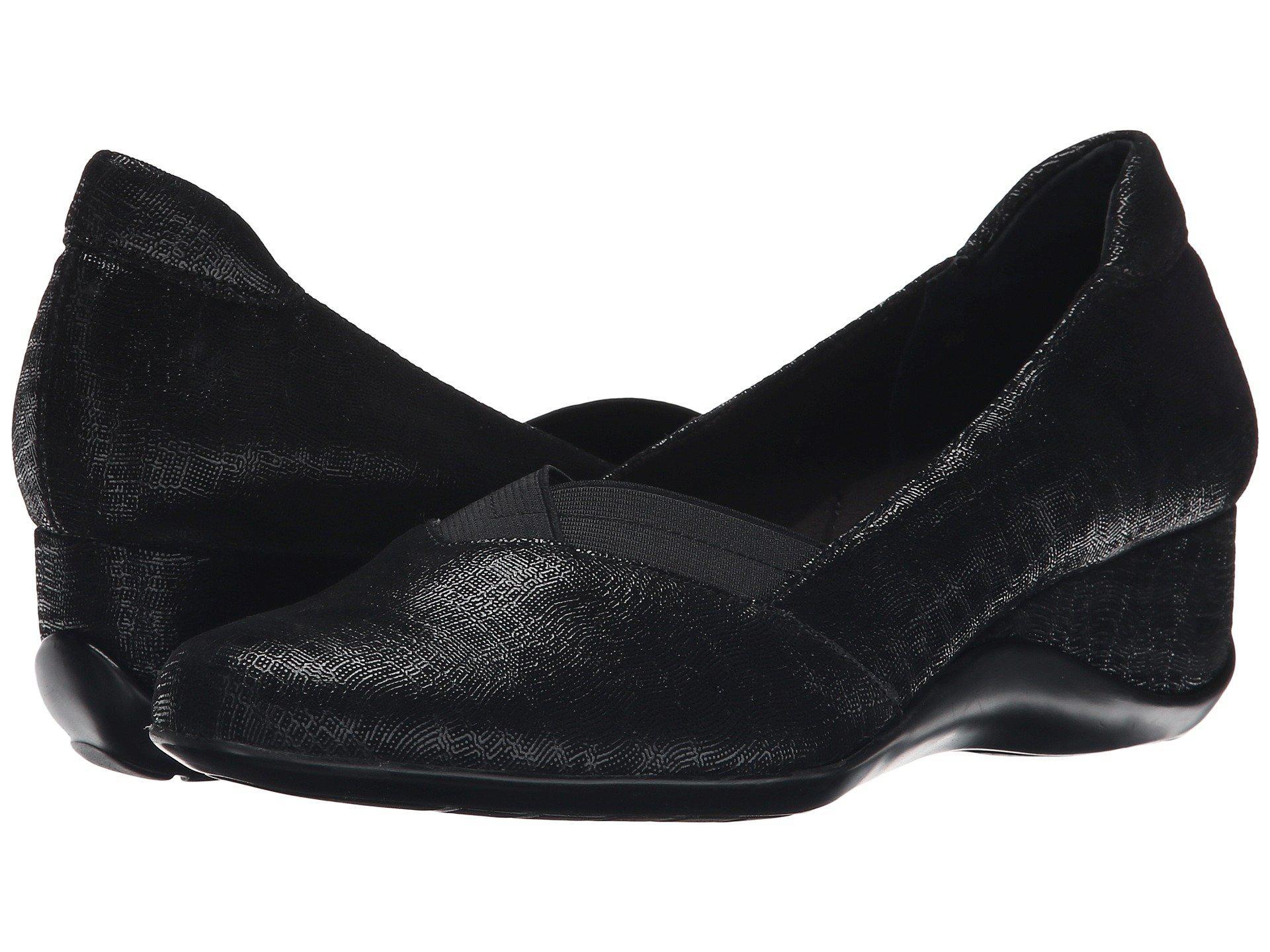 Womens Shoes Vaneli Candee Black Trama Print
