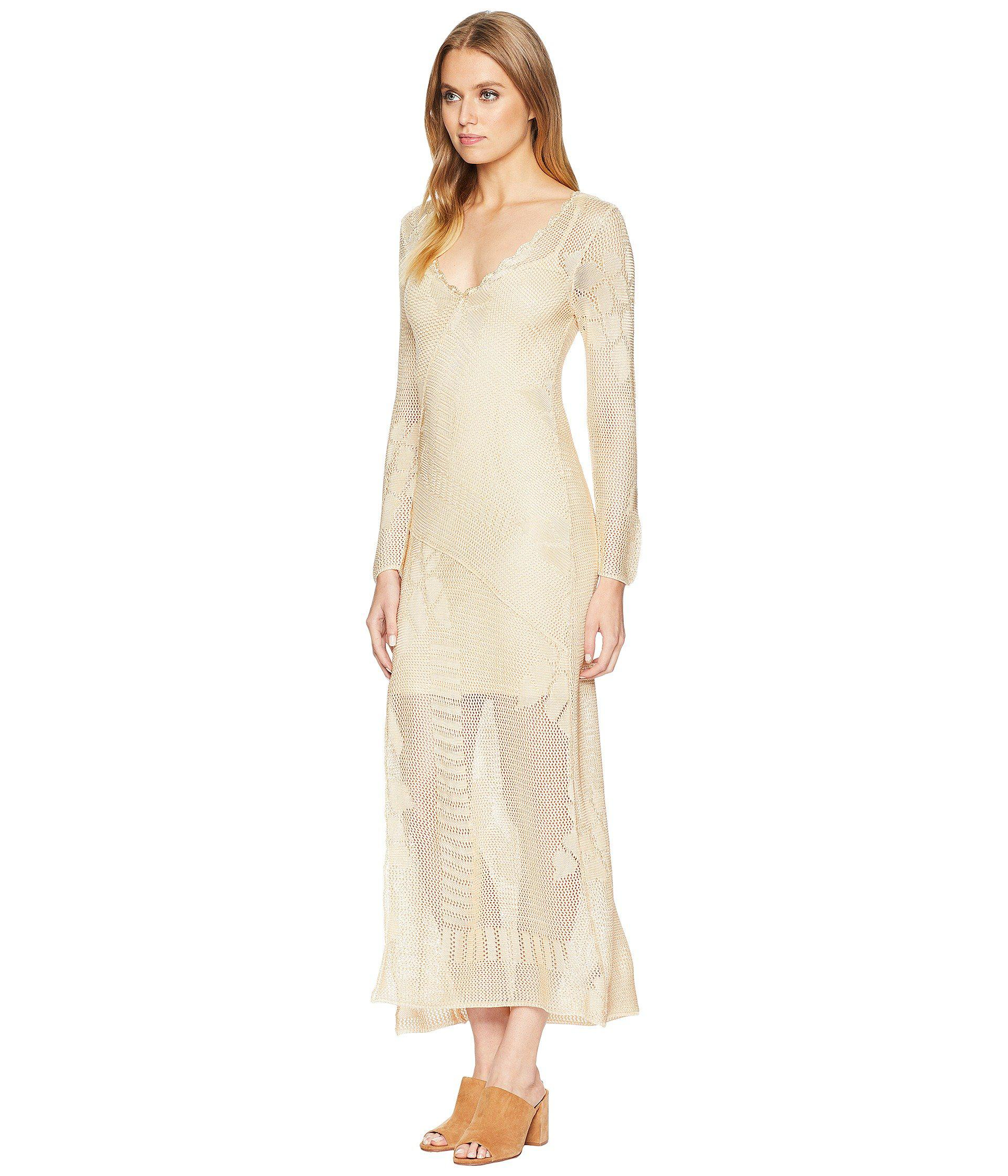 358e801fd2da Lyst - Free People It s Like This Crochet in Natural