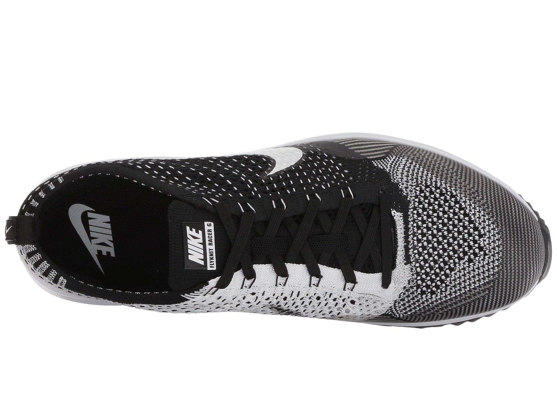 0eebda72a66ab Nike - Black Flyknit Racer G for Men - Lyst. View fullscreen