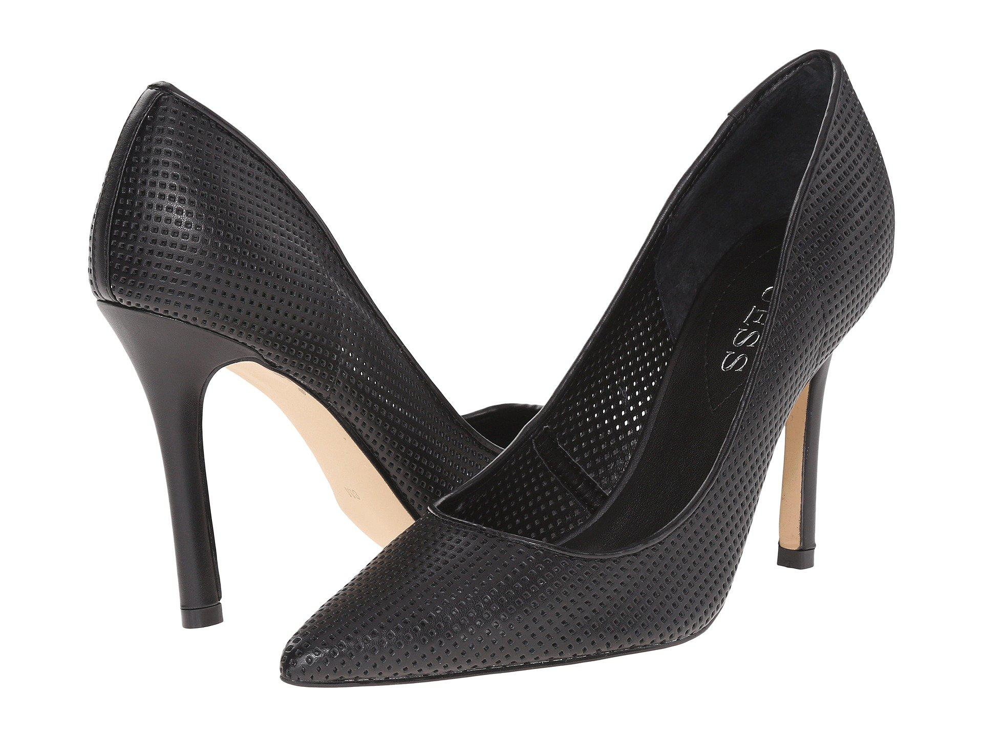 Womens Shoes GUESS Eloys Black Perf