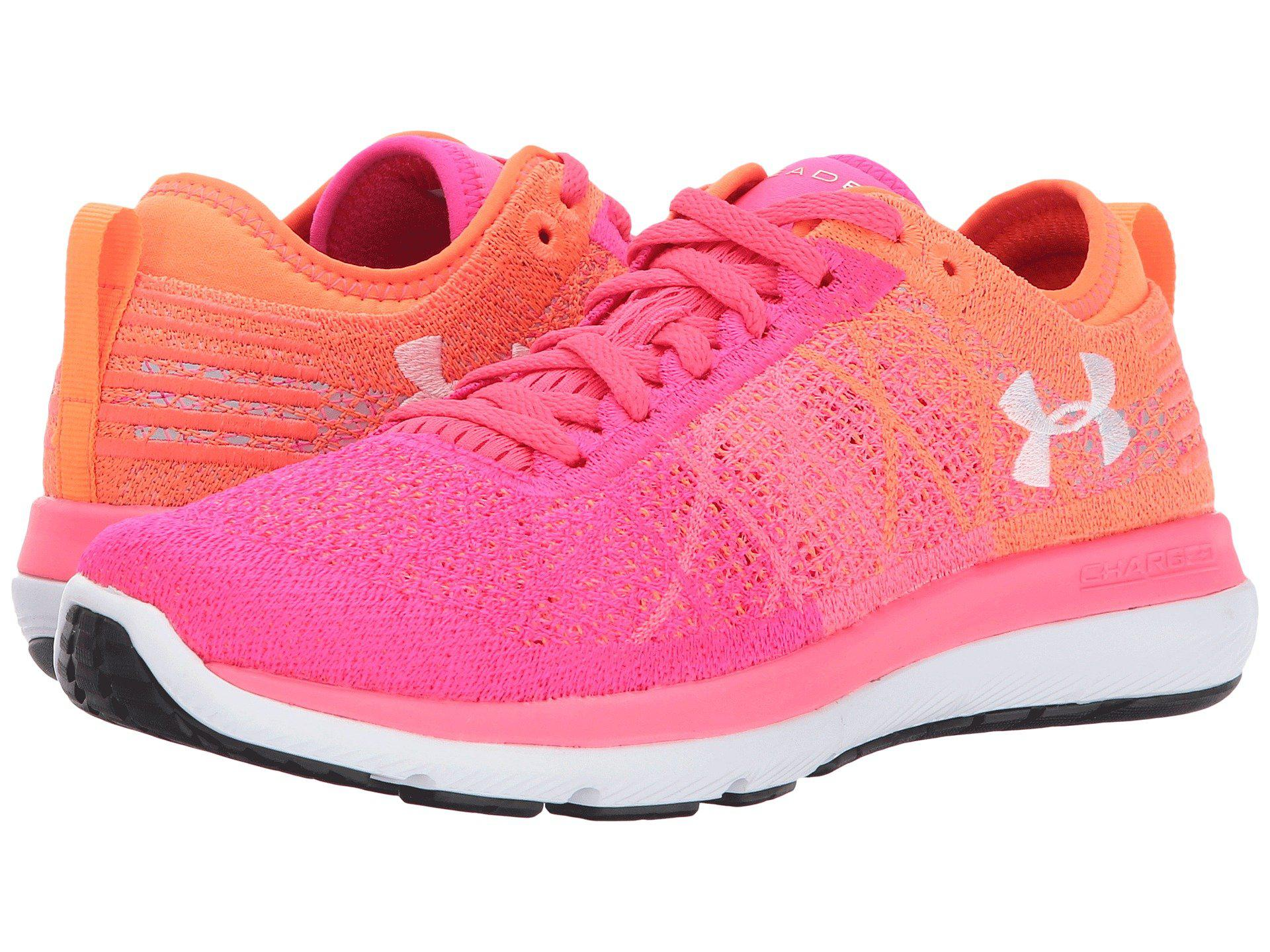 Lyst - Under Armour Threadborne Fortis 3 in Pink - Save 33% 5882a4a624348