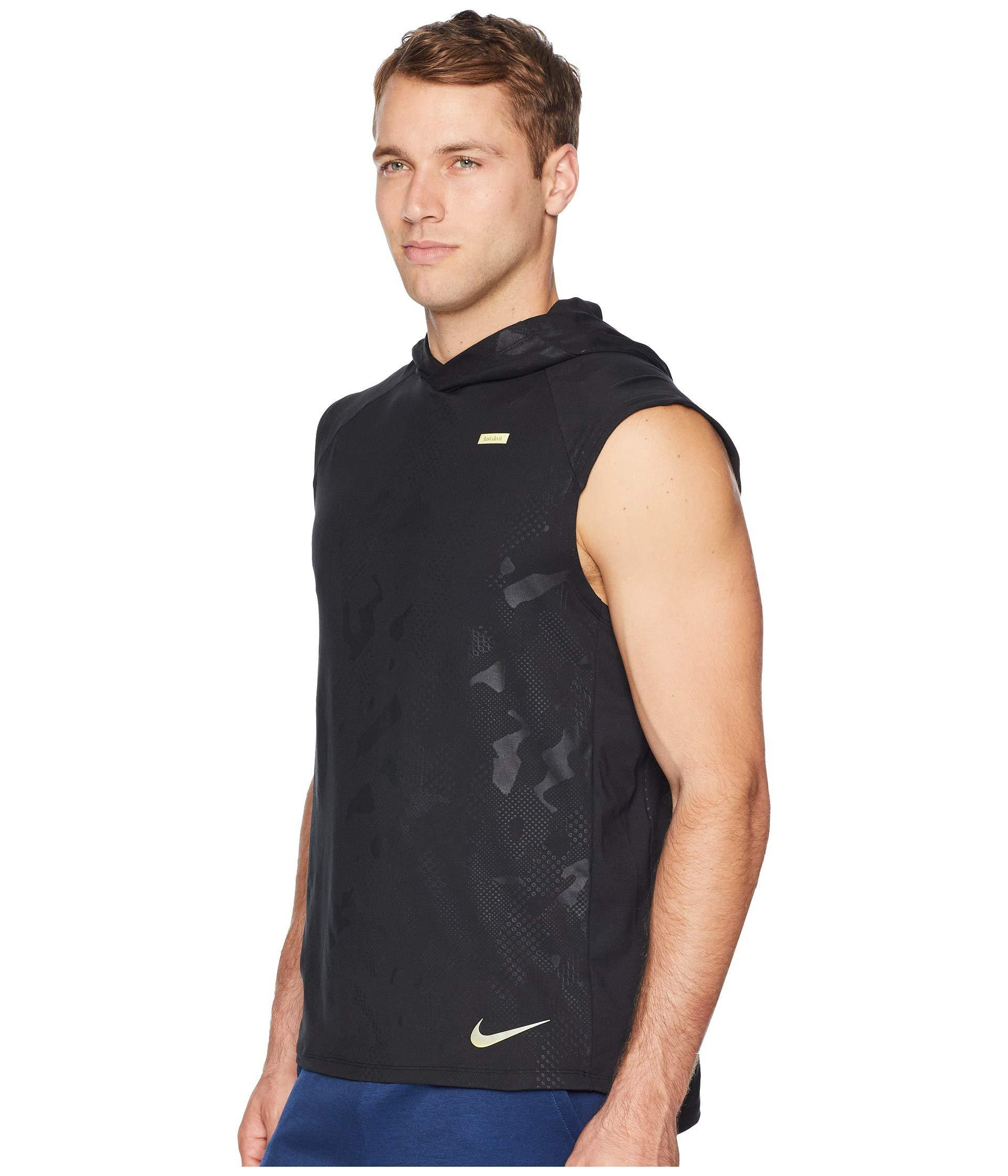 d5a4f95c0ab8 Lyst - Nike Element Sleeve Hoodie Gx in Black for Men - Save 19%