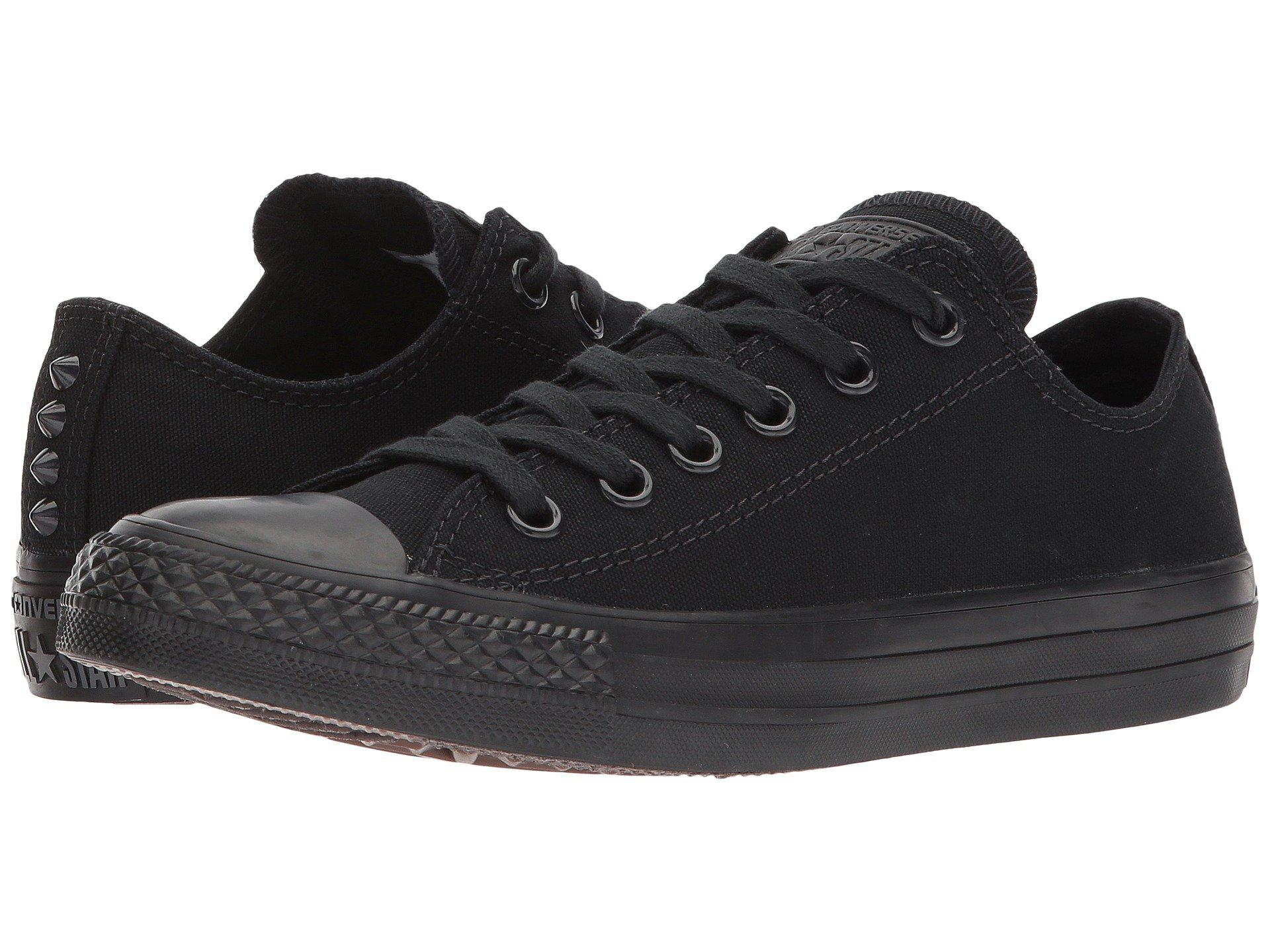 3e407c02c1da Lyst - Converse Chuck Taylor® All Star Canvas Studs Ox in Black for Men
