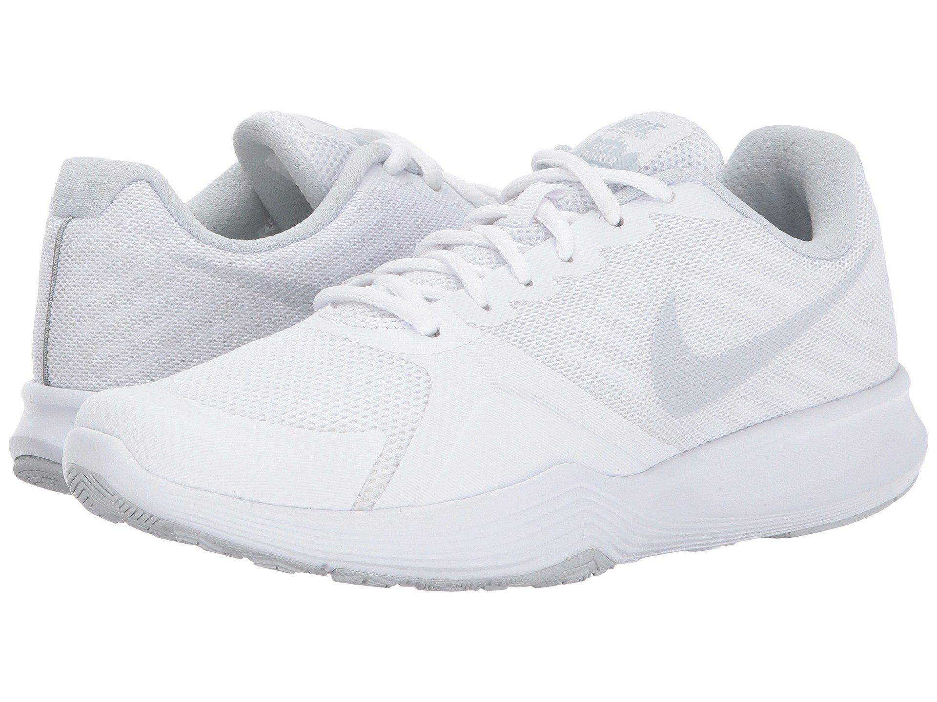 c7f4649587c Lyst - Nike City Trainer in White