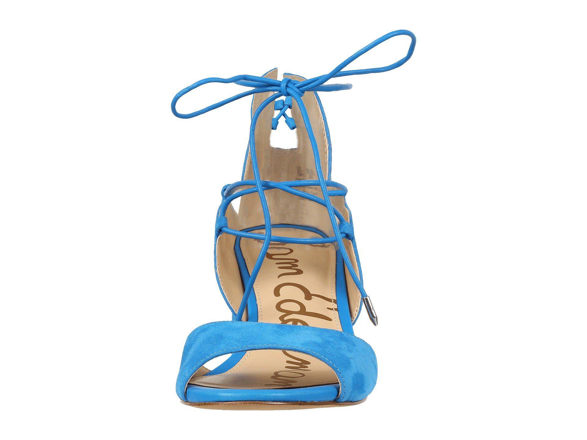 5dd5572cc762 Sam Edelman - Blue Serene Dress Sandal - Lyst. View fullscreen
