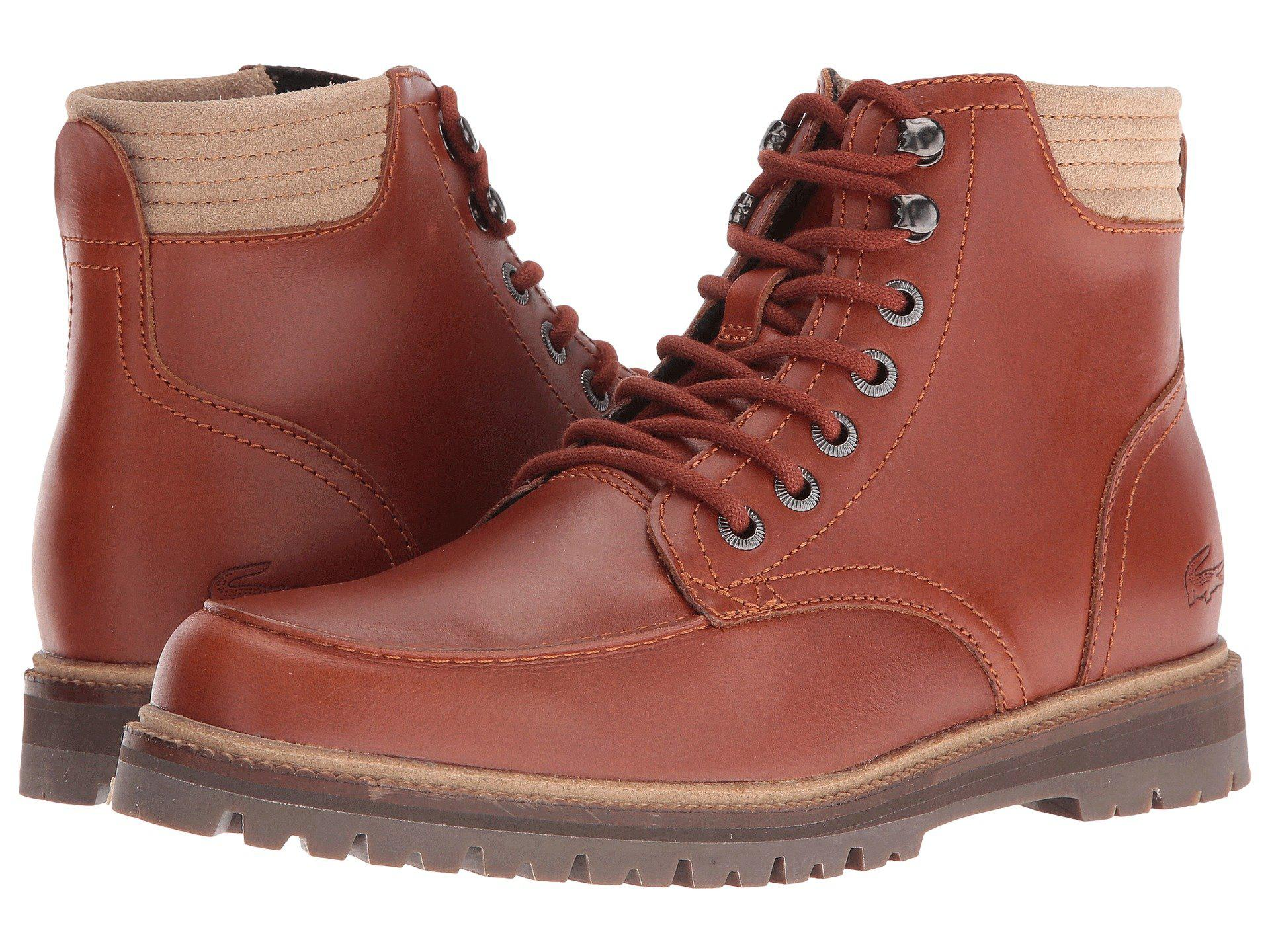 0ce56ebd557cd4 Lyst - Lacoste Montbard 416 1 Cam Fashion Sneaker Boot in Brown for ...