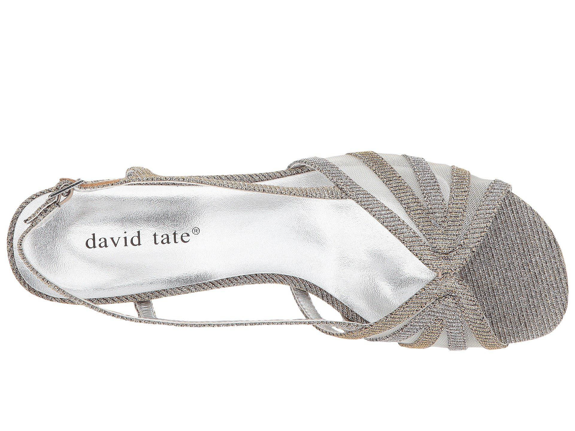 e0d851e12474 David Tate - Metallic Ritz - Lyst. View fullscreen