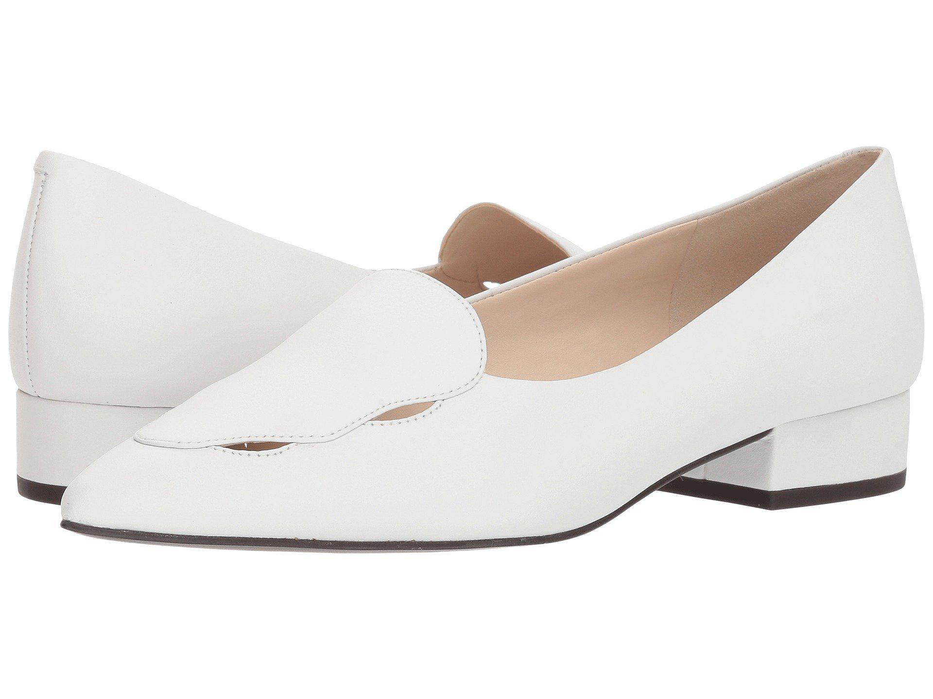 055baa75758 Lyst - Cole Haan G.os Leah Skimmer in White - Save 23%