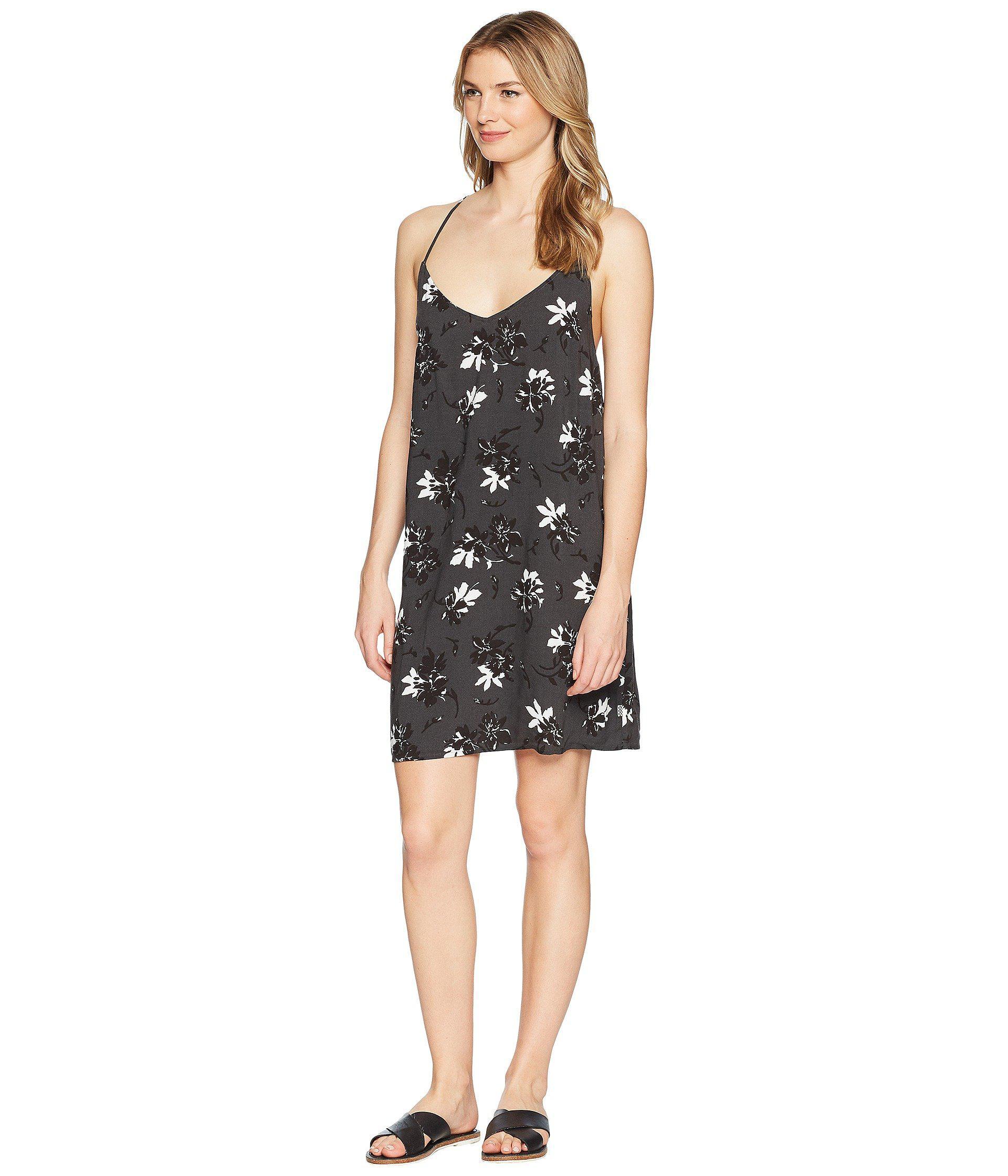 5005e30722 Lyst - Vans Maria Dress in Black