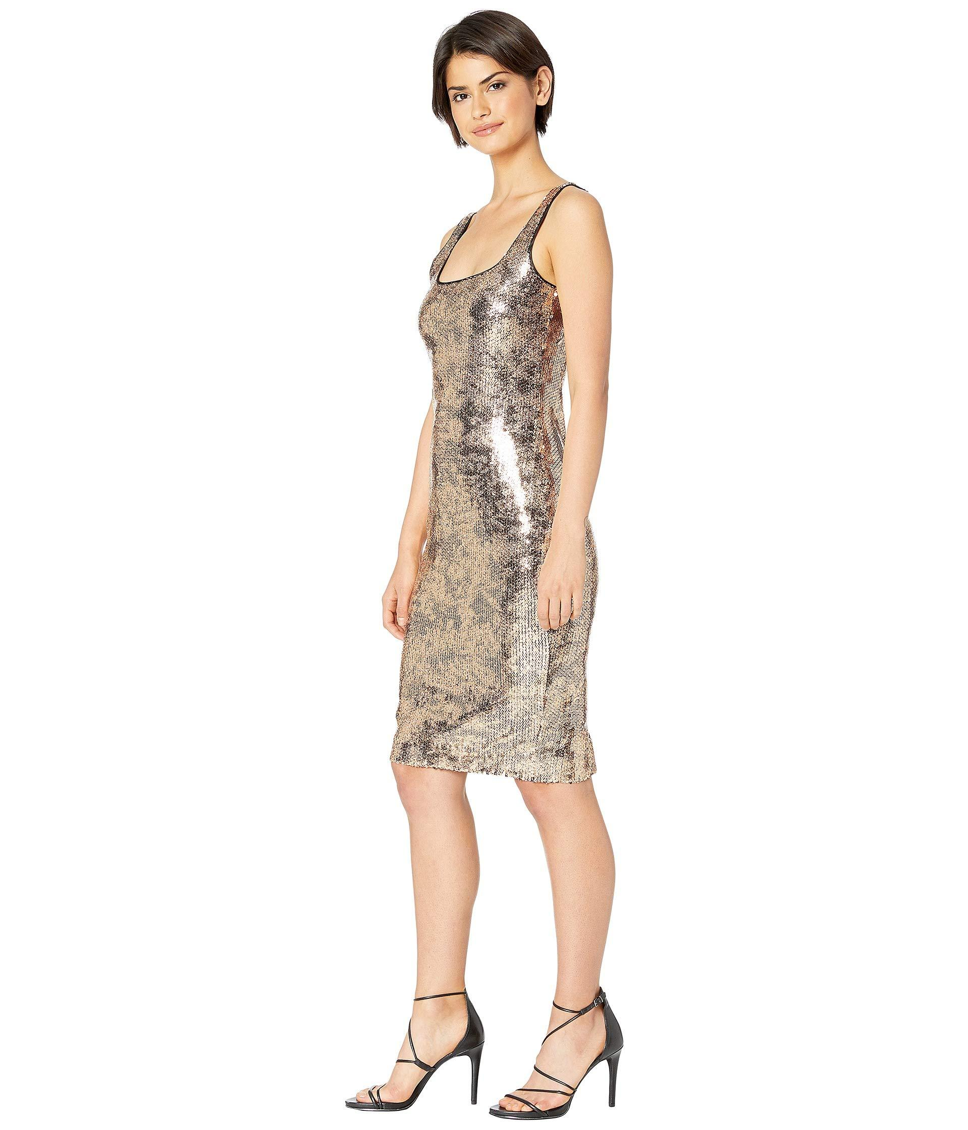 7096bc7269 Lyst - Bardot Sequin Neve Dress in Metallic - Save 33%