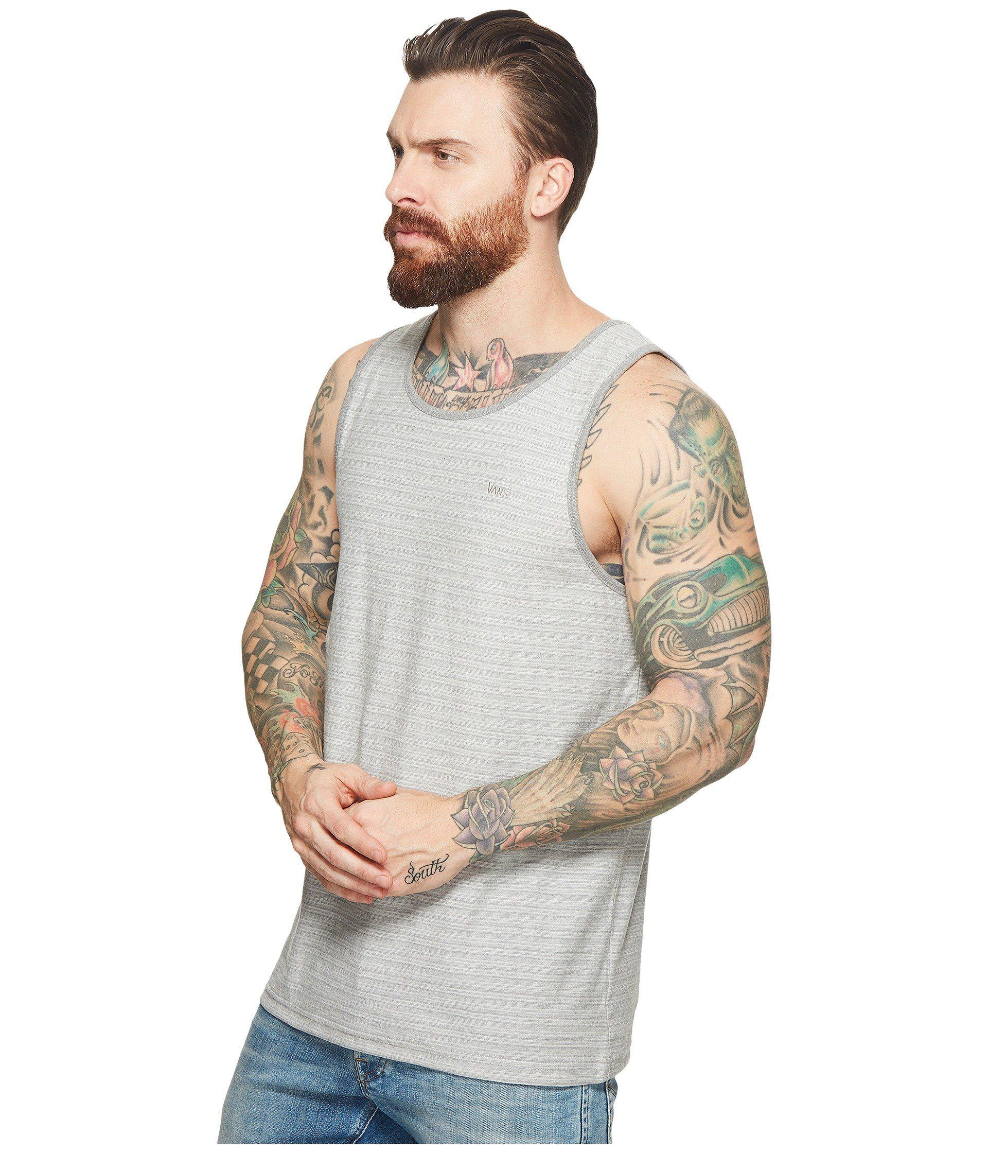 0356f7f7814b43 Lyst - Vans Balboa Ii Tank Top in Gray for Men