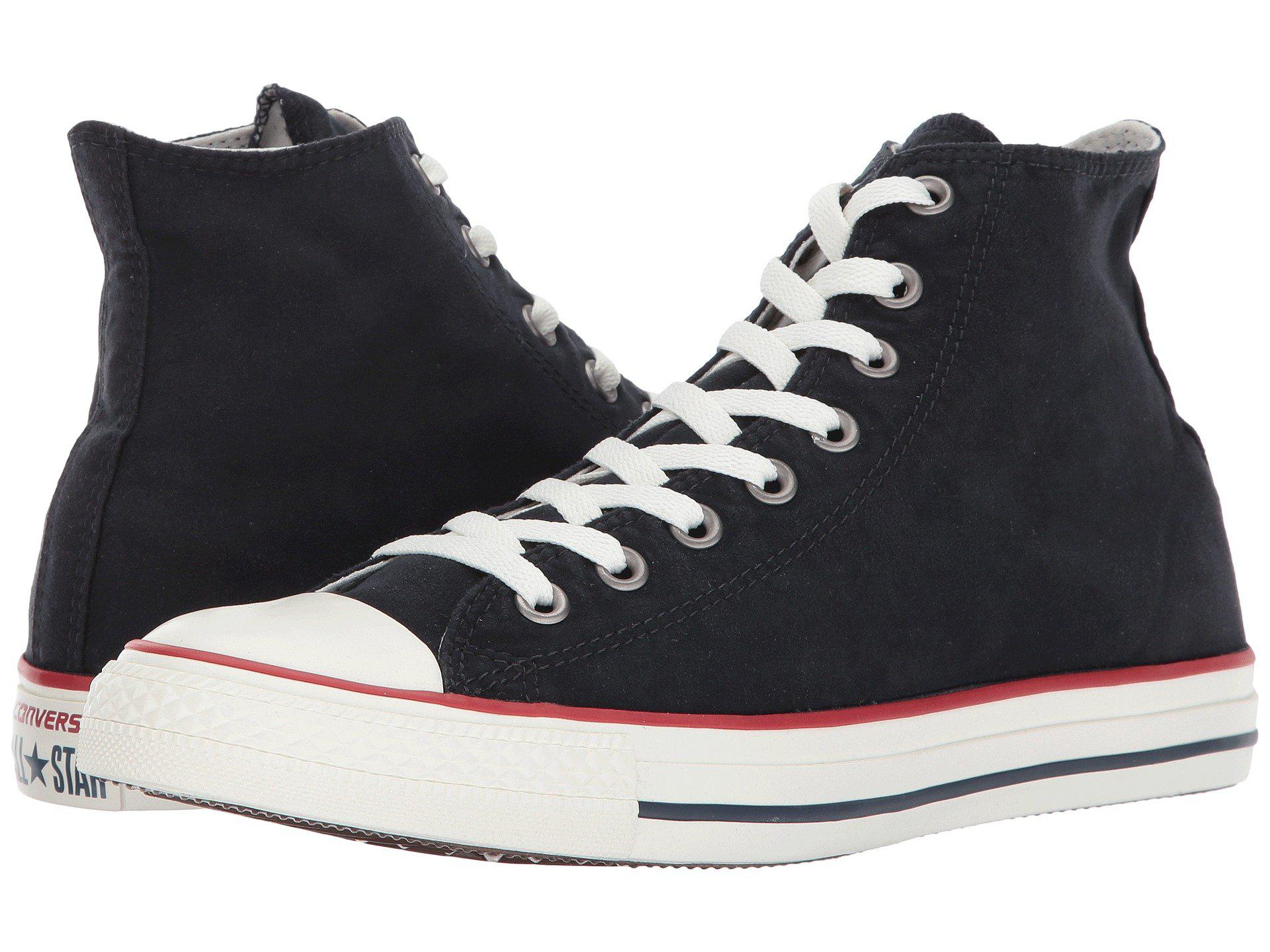 61937493f408 Lyst - Converse Chuck Taylor All Star Ombre Wash - Hi in Black