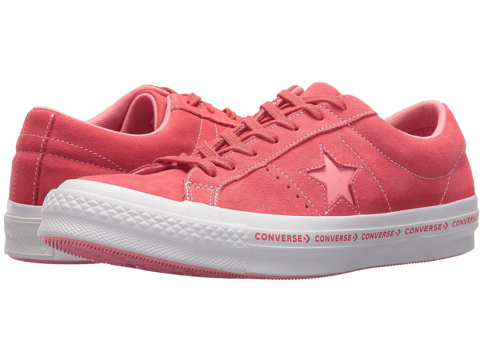 deff9d8e1e99 Converse - Pink One Star® Pinstripe Ox for Men - Lyst. View fullscreen