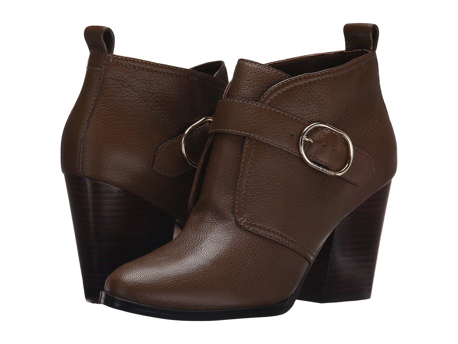 Womens Boots Cole Haan Lily Bootie Bison Leather