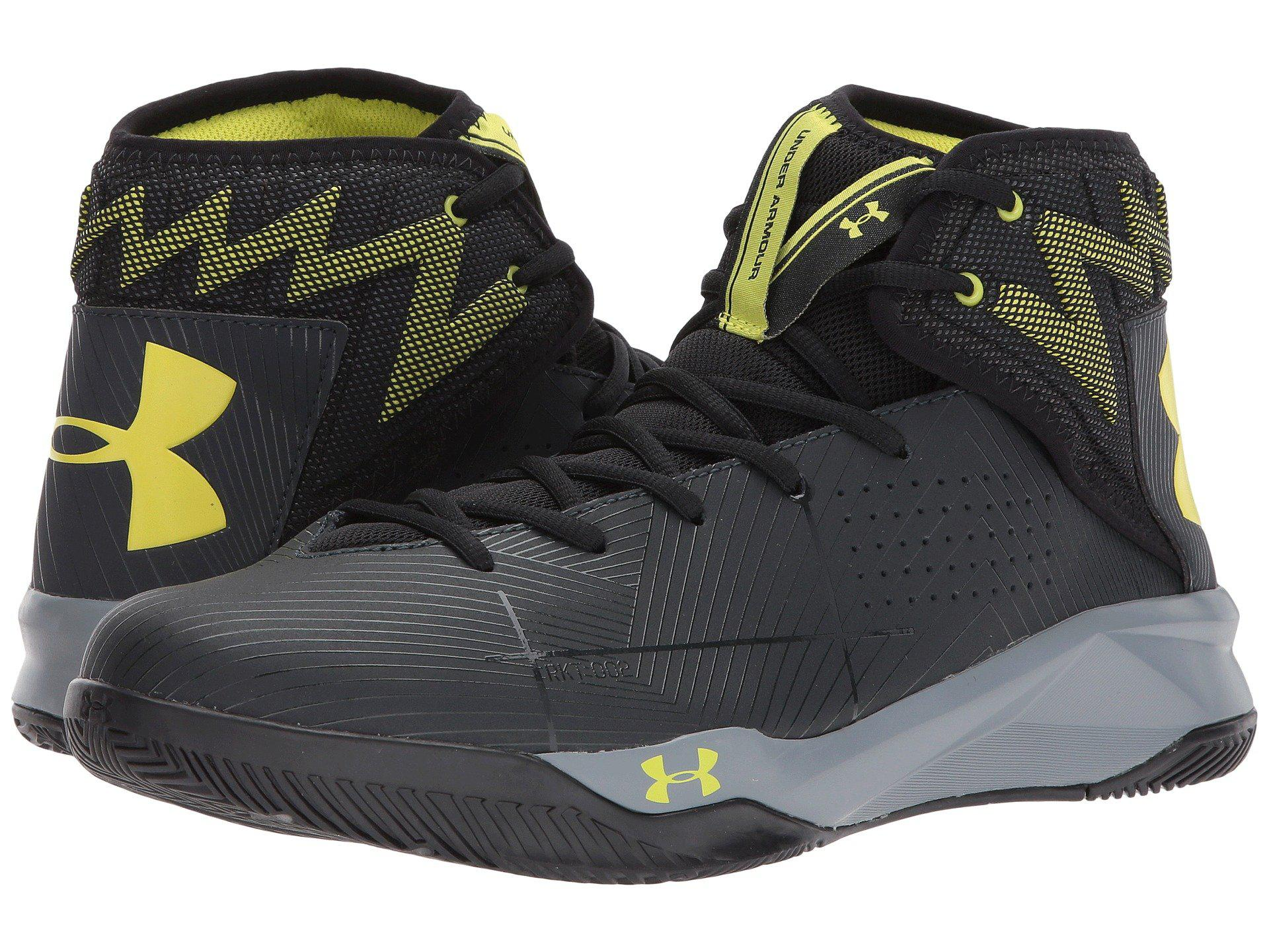 4cce706b24c8 Under Armour Ua Rocket 2 in Black for Men - Lyst