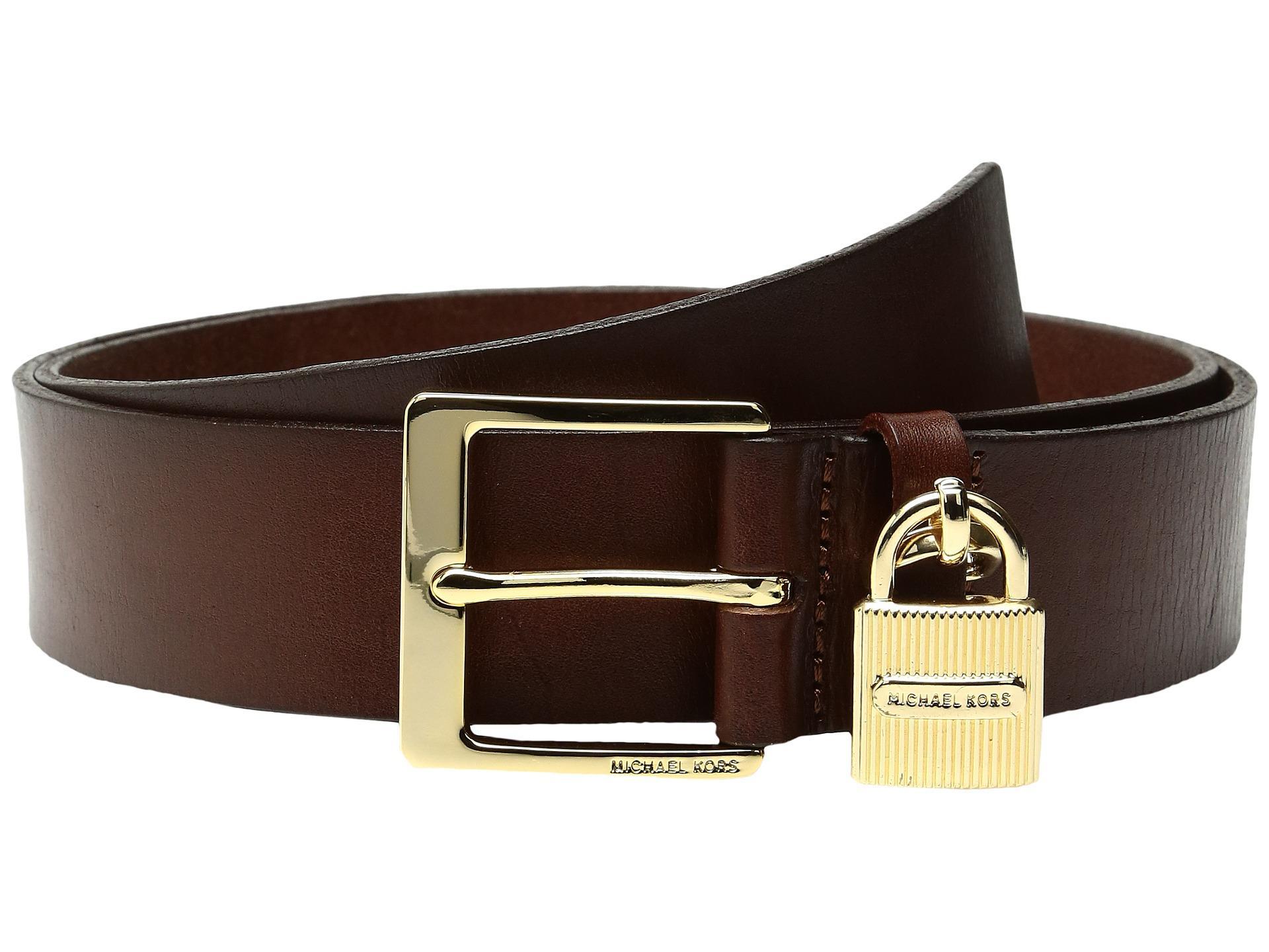 9a001548ccbf order gürtel michael kors mk hardware mens belt black f942d cde6d  where  can i buy lyst michael michael kors 38mm beg leather belt with hanging  ridge 27b01