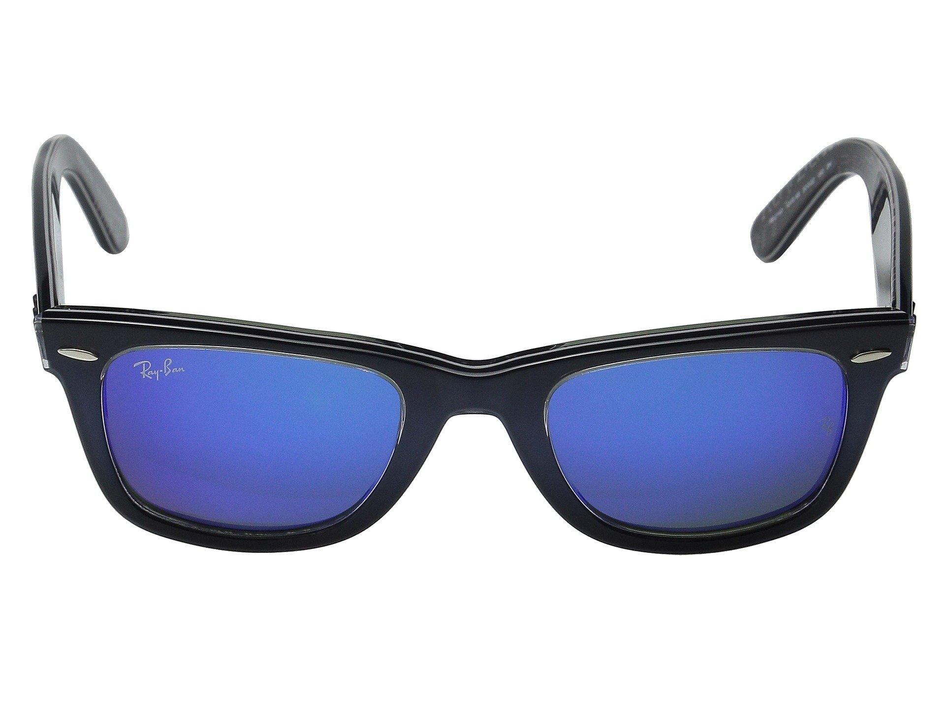 eed9fe5594 Ray-Ban - Blue Rb2140 Original Wayfarer 50mm - Lyst. View fullscreen