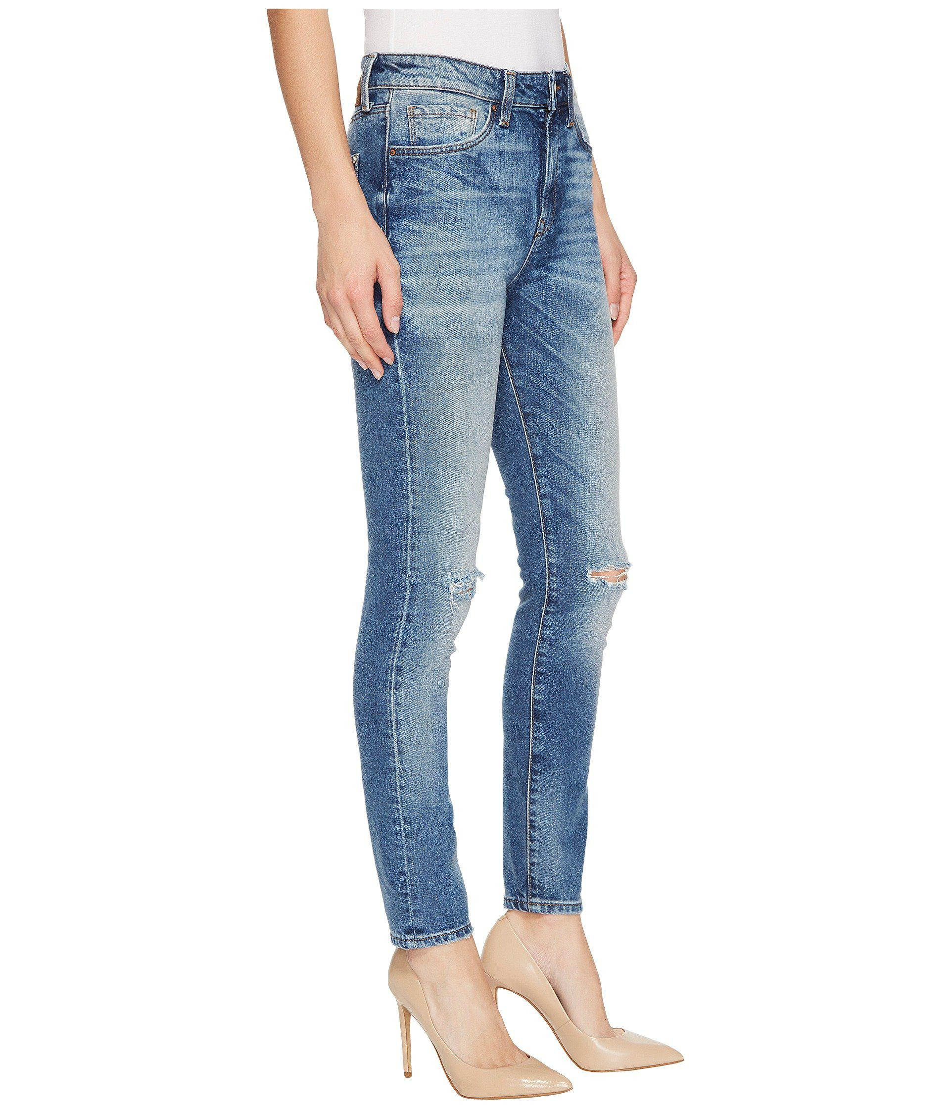 b4f674ab435 Mavi Jeans Lucy In Foggy Ripped Vintage in Blue - Lyst