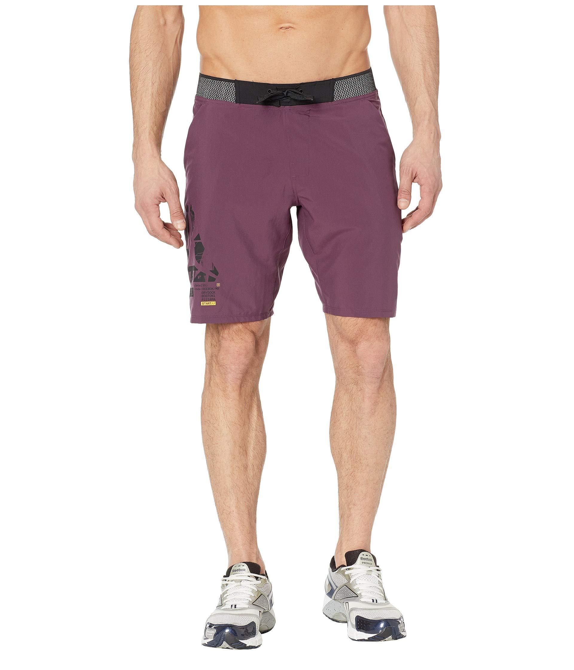 aeddae7a3e9c Reebok - Purple Epic Lightweight Shorts for Men - Lyst. View fullscreen