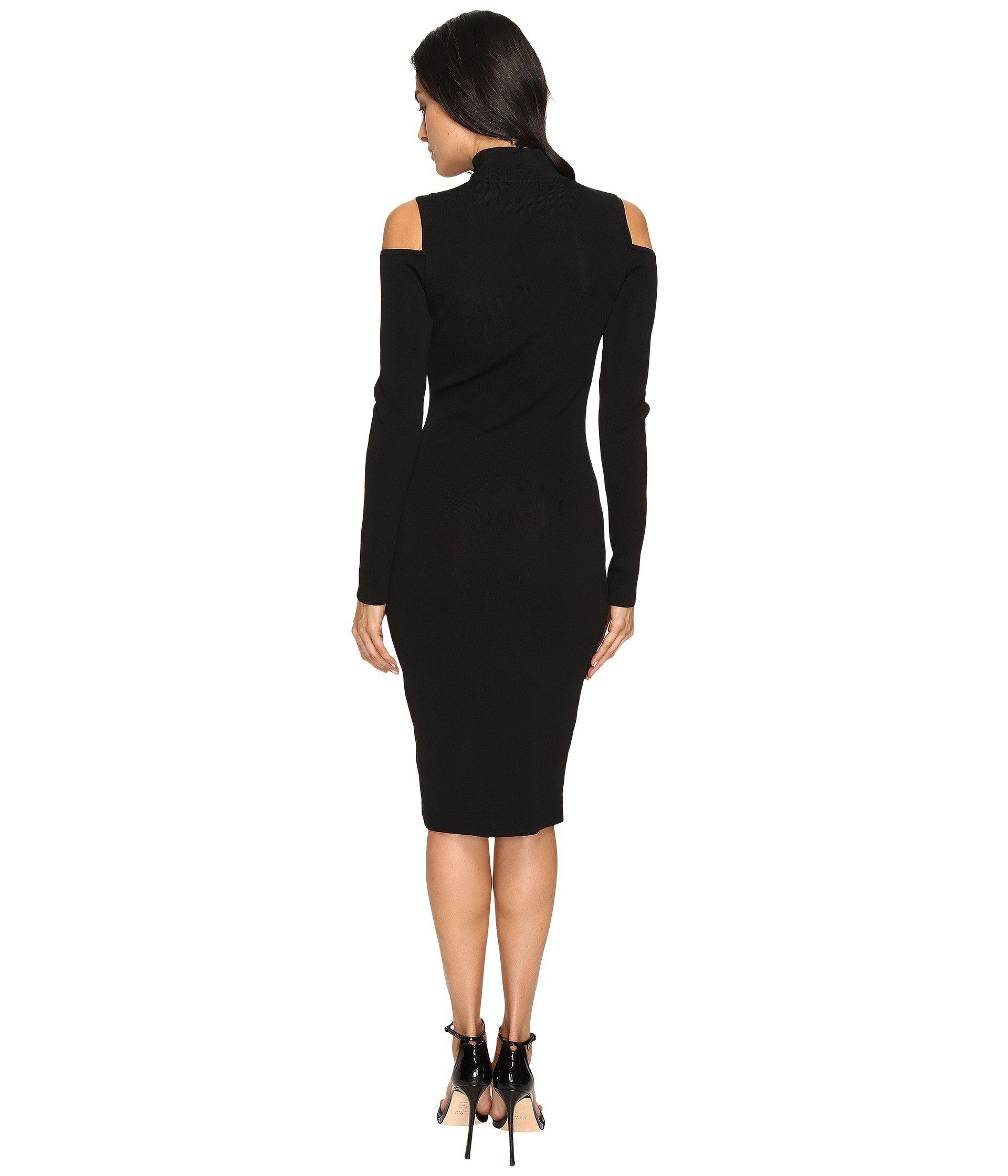 Laundry by Shelli Segal Mock Neck Cold Shoulder Sweater ...