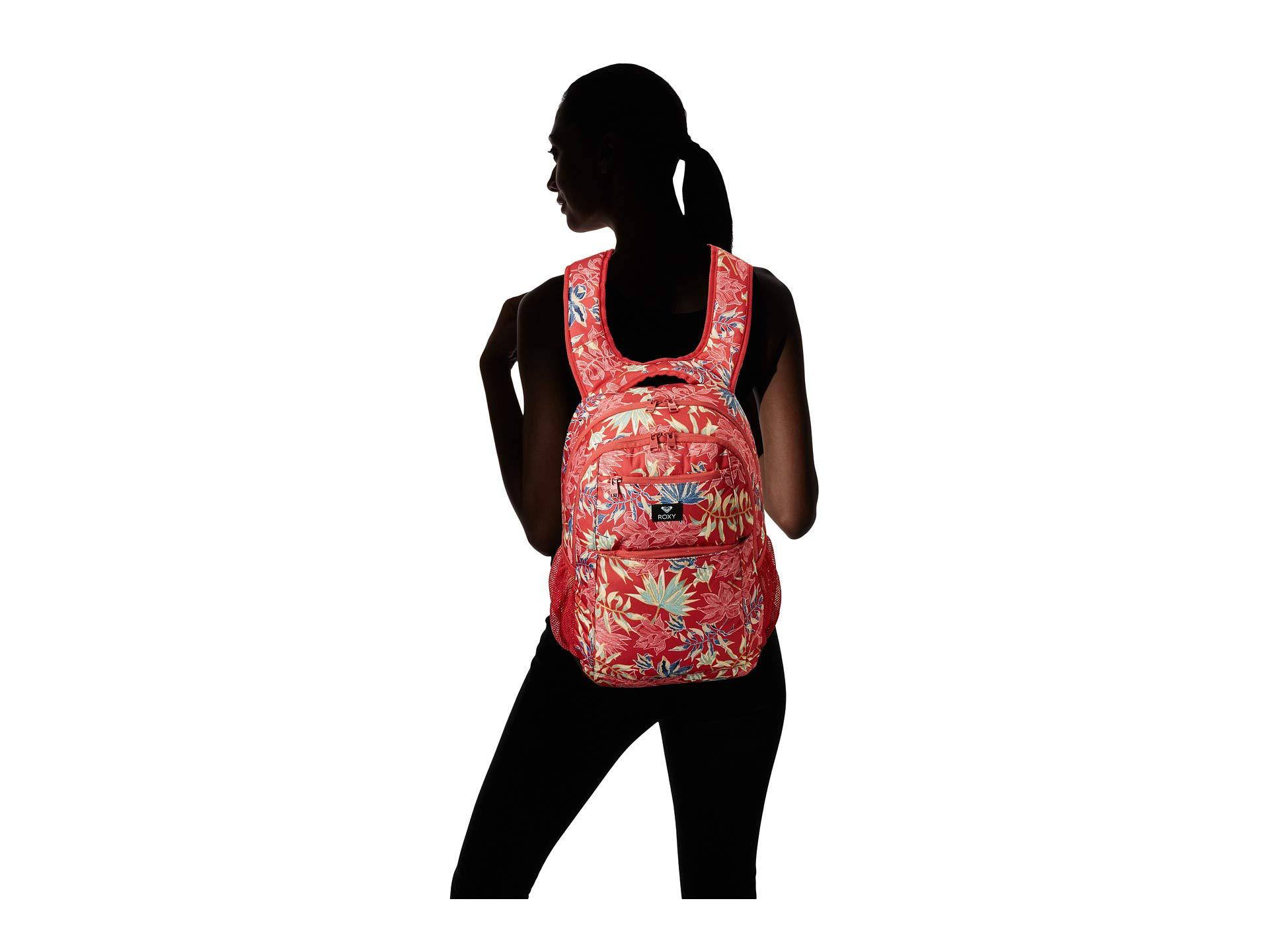 e8c33e74edd Lyst - Roxy Here You Are Backpack in Red - Save 33%