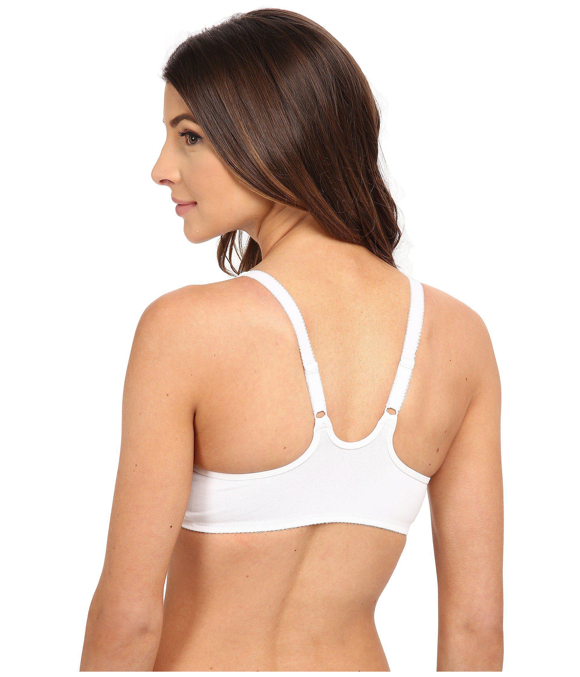 69c9bc8051ecc Wacoal - White Body By ® T-back Underwire Bra 65124 - Lyst. View fullscreen