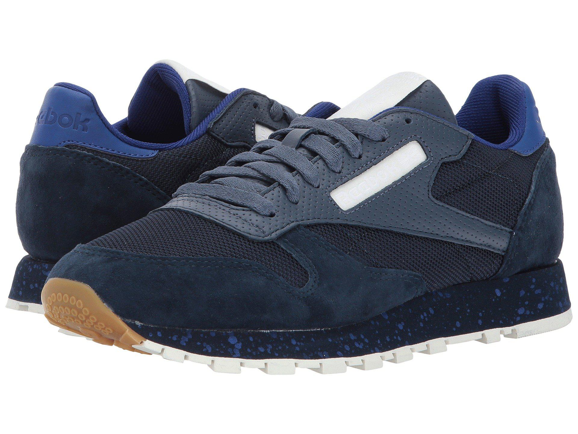 Lyst - Reebok Classic Leather Sm in Blue for Men 7ab1f84f4