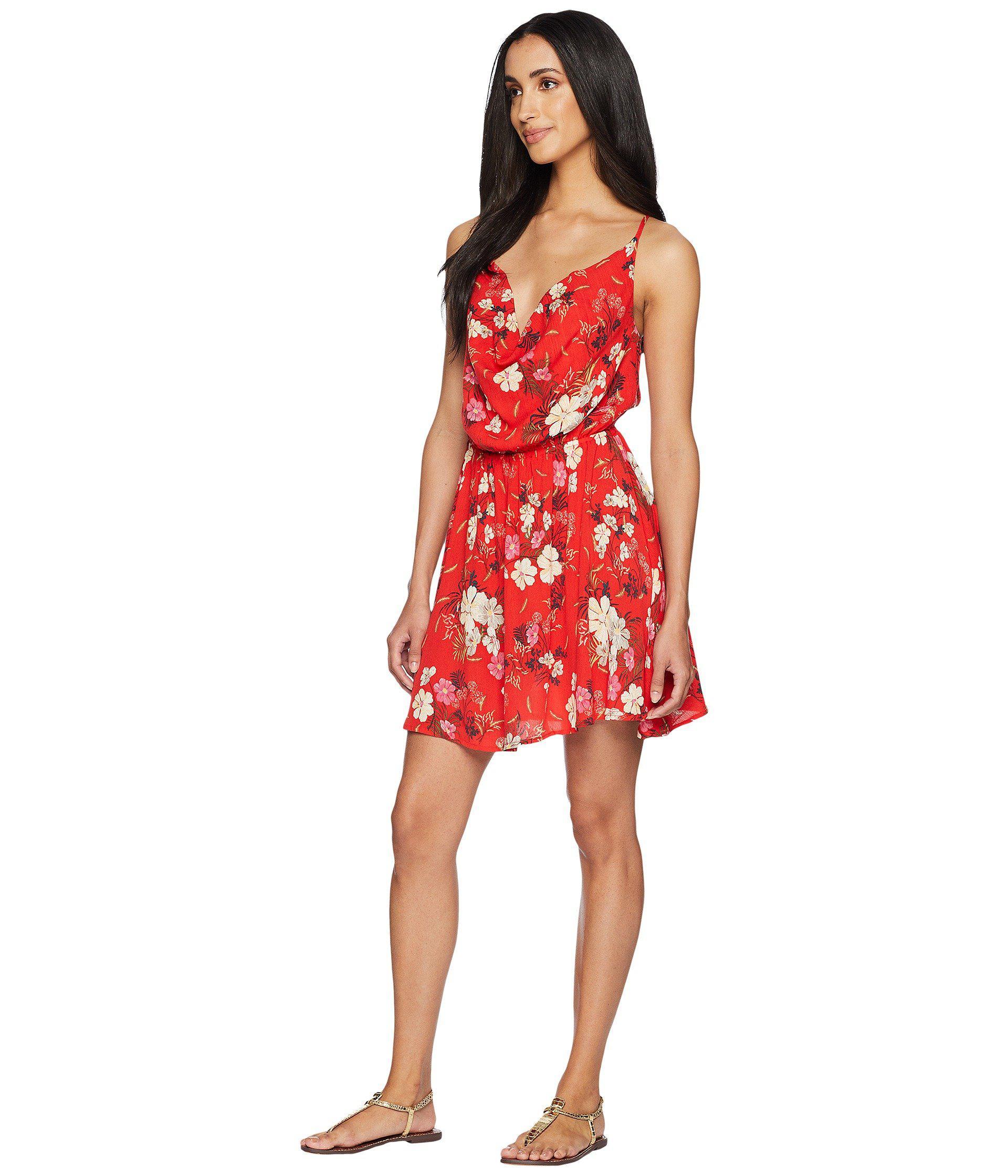 2266b325f55c7 Lyst - O neill Sportswear Ashby Dress in Red - Save 22%