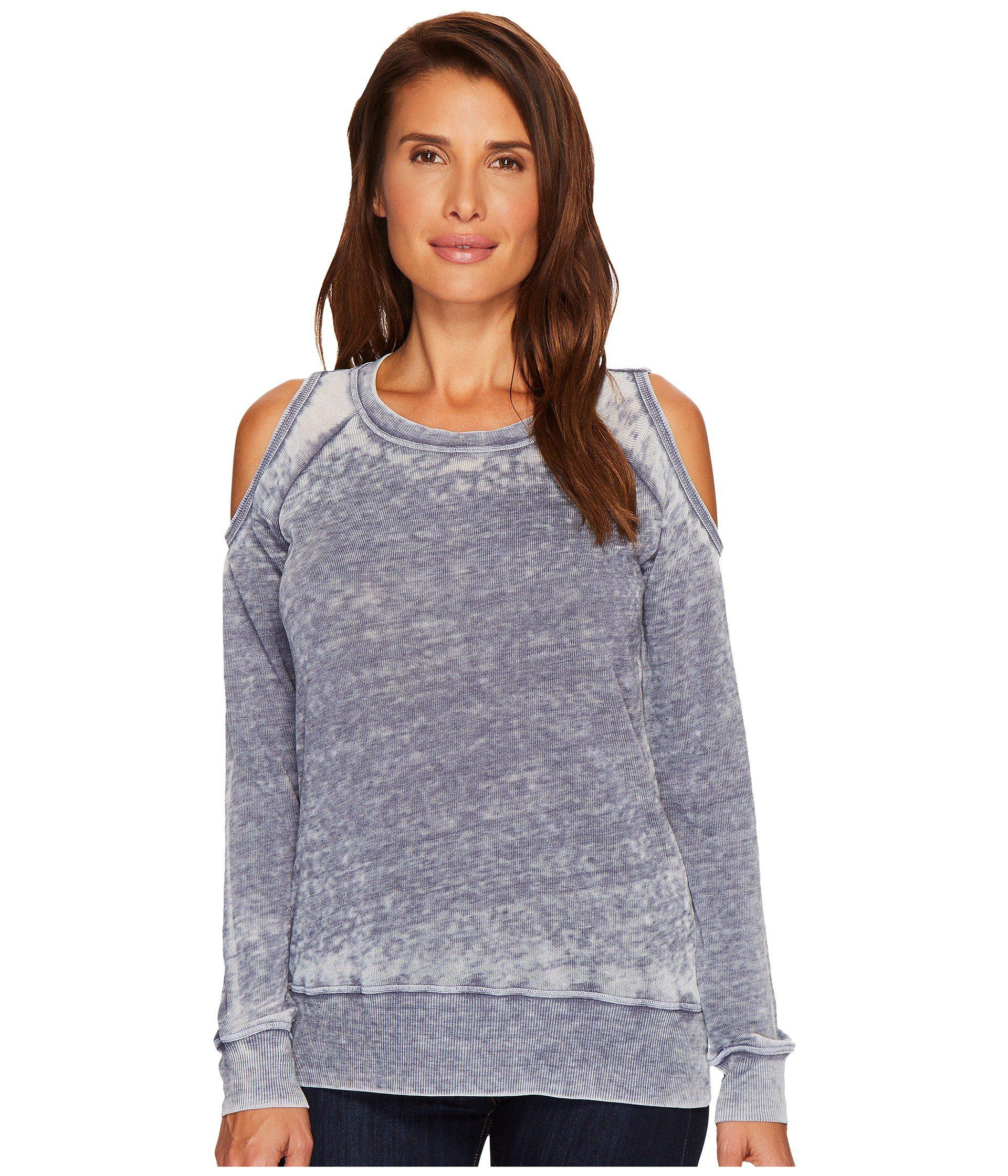 ad8becdeede431 Allen Allen. Women s Sweater Cold Shoulder Top