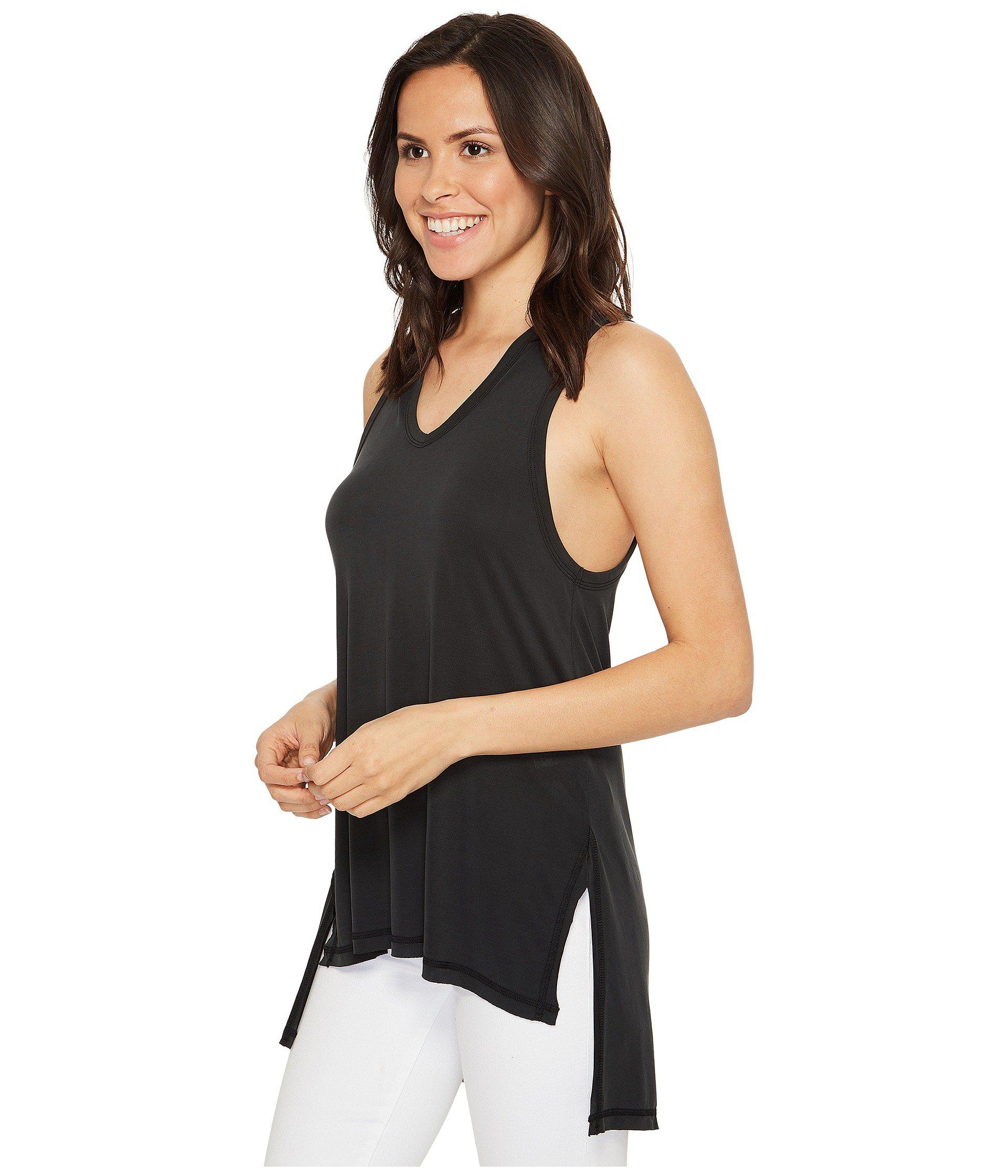 6af012d57c667 Lyst - Culture Phit Flavia Sleeveless Top With Hood in Black