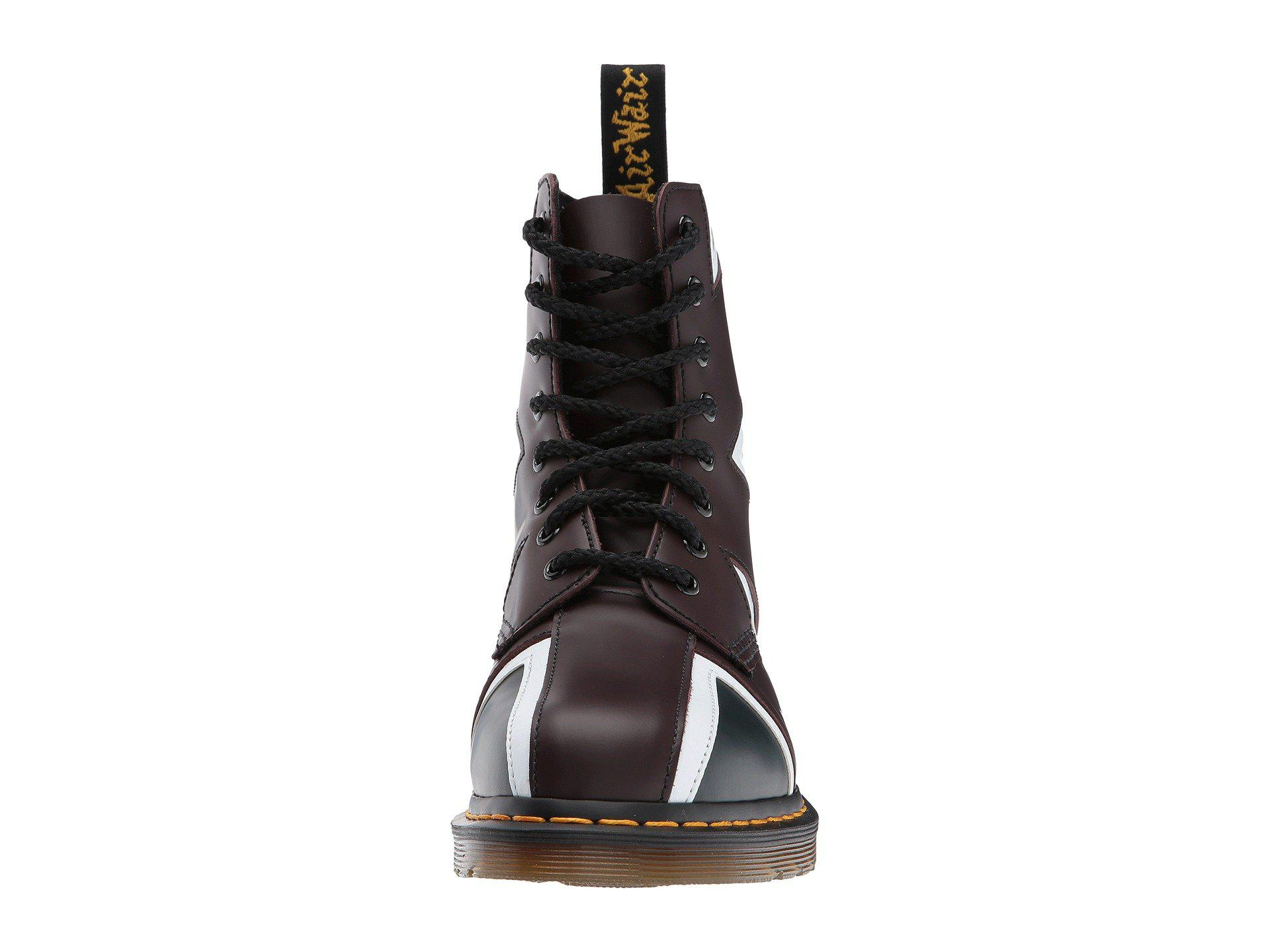237aa754b8 Dr. Martens Union Jack Pascal 8-eye Boot - Lyst