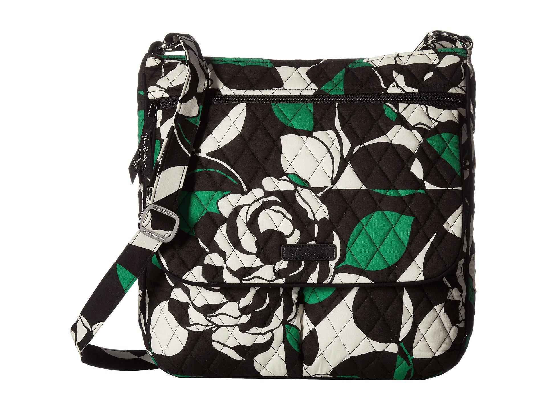 Vera Bradley - Multicolor Double Zip Mailbag, Signature Cotton - Lyst 2cb7e40a1c