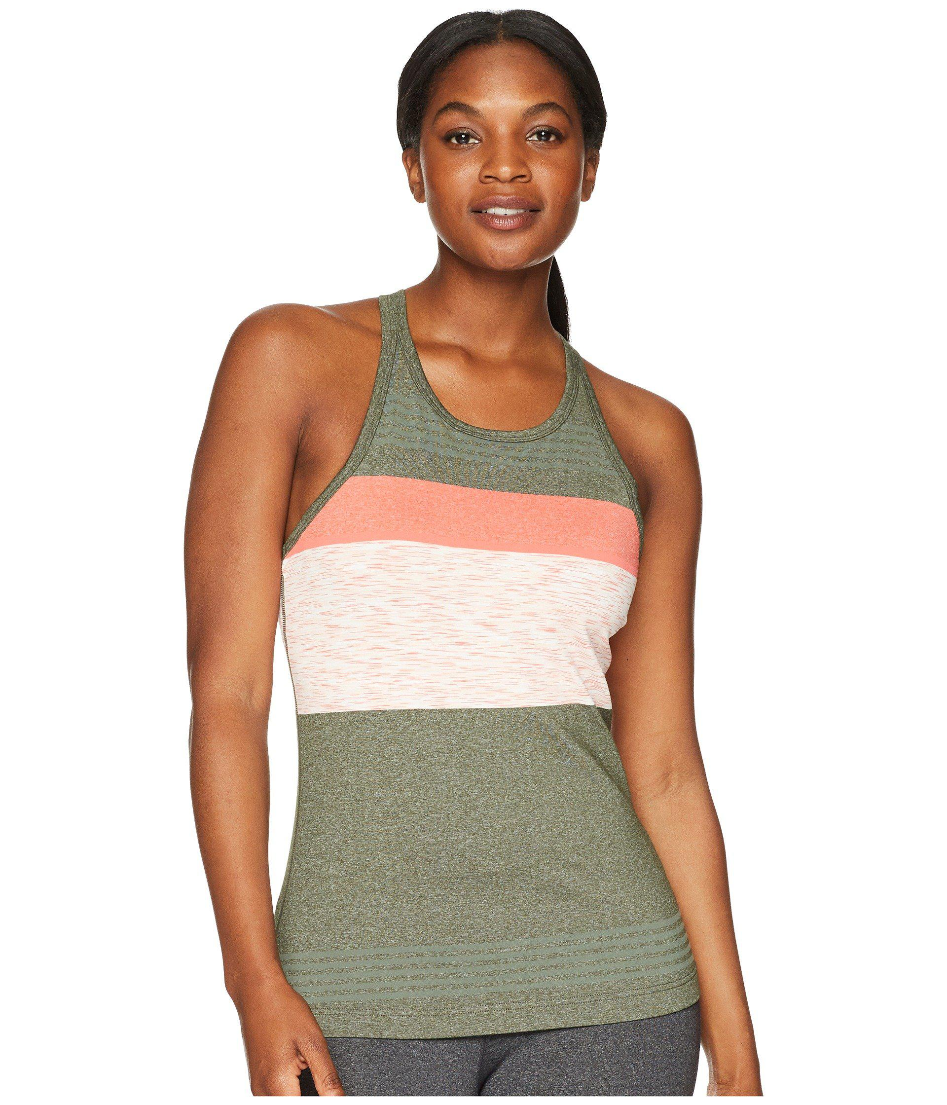 b05faa8c575c99 Lyst - Prana Alois Top in Green - Save 36.170212765957444%