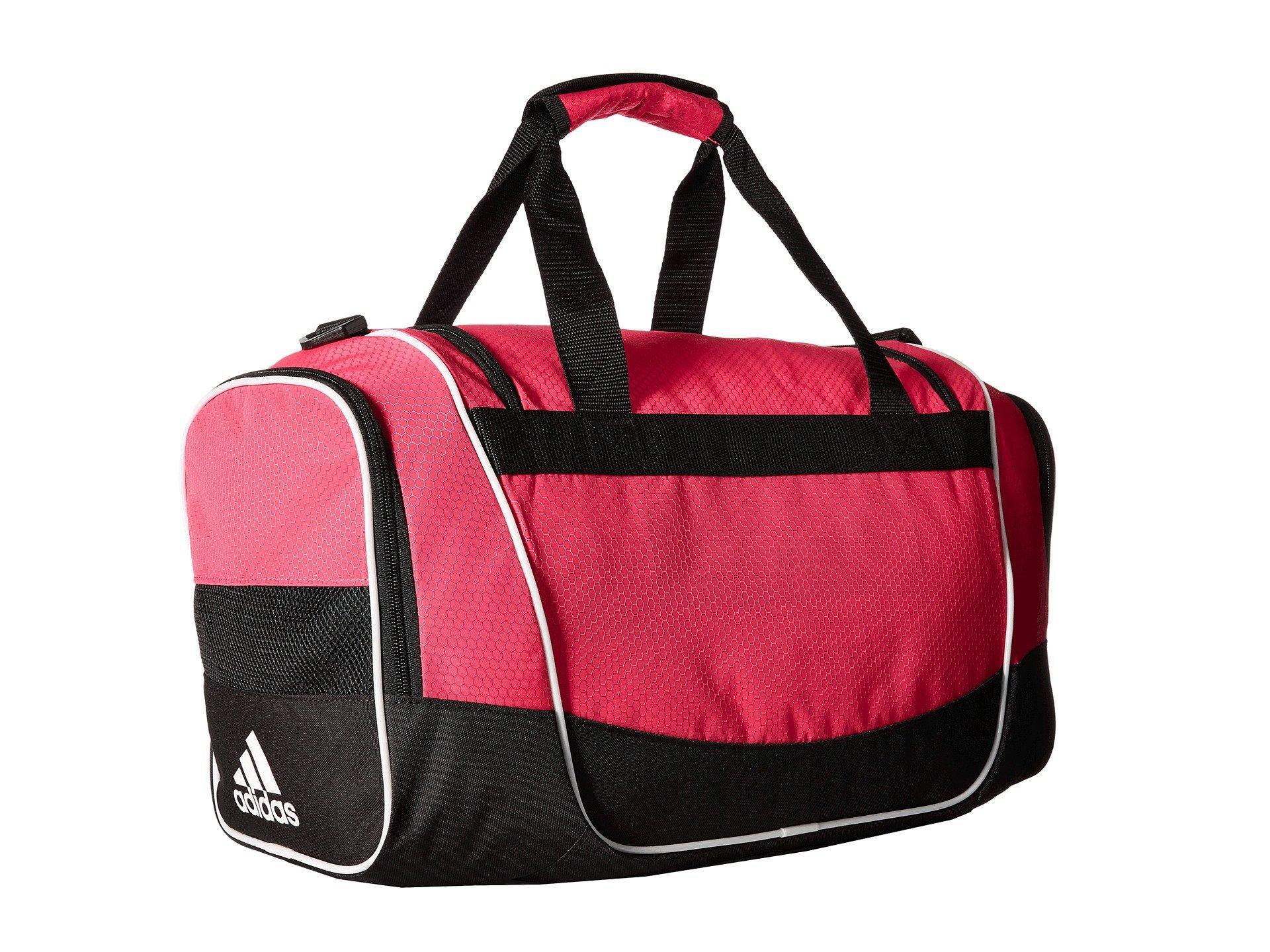 4e6b4342d3 Adidas - Pink Defender Ii Small Duffel - Lyst. View fullscreen