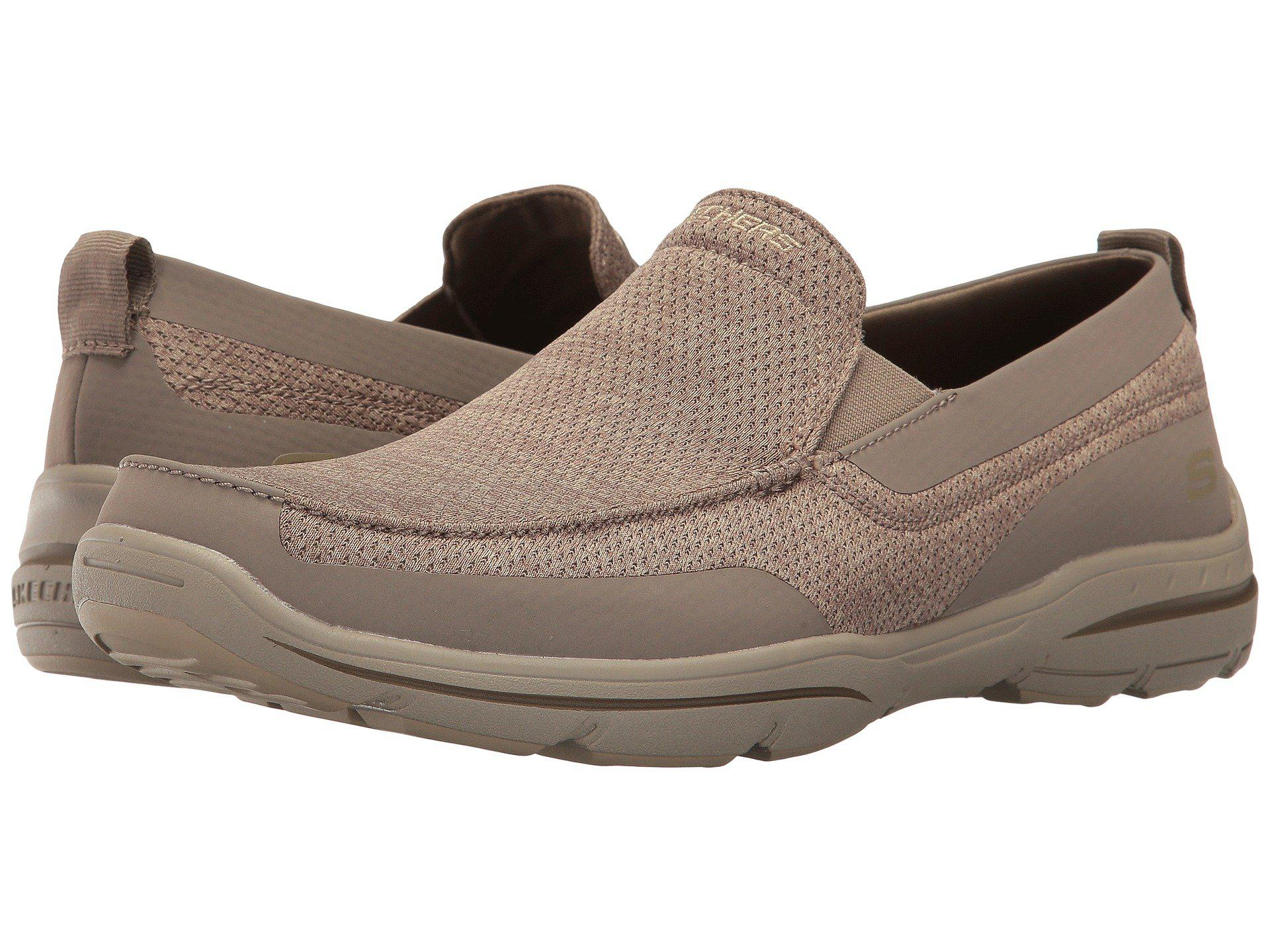 e107c78a69e5 Lyst - Skechers Relaxed Fit®  Harper - Moven in Brown for Men