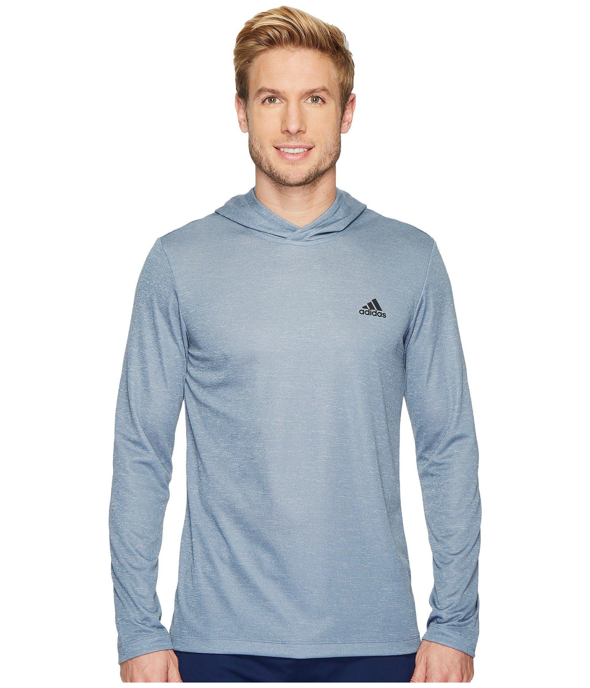Lyst Adidas Essentials Tech Tee Remix Hoodie en azul para los hombres