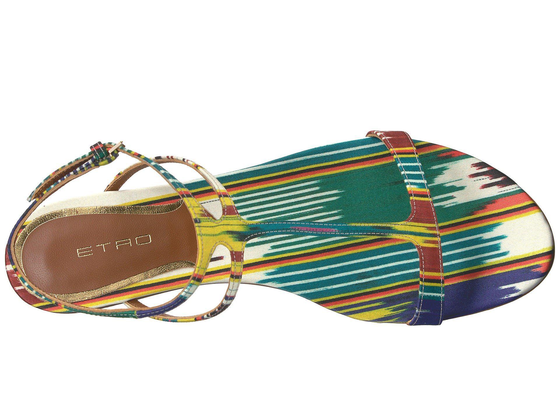 Etro Ikat Flat Sandal gj92kJxbJ