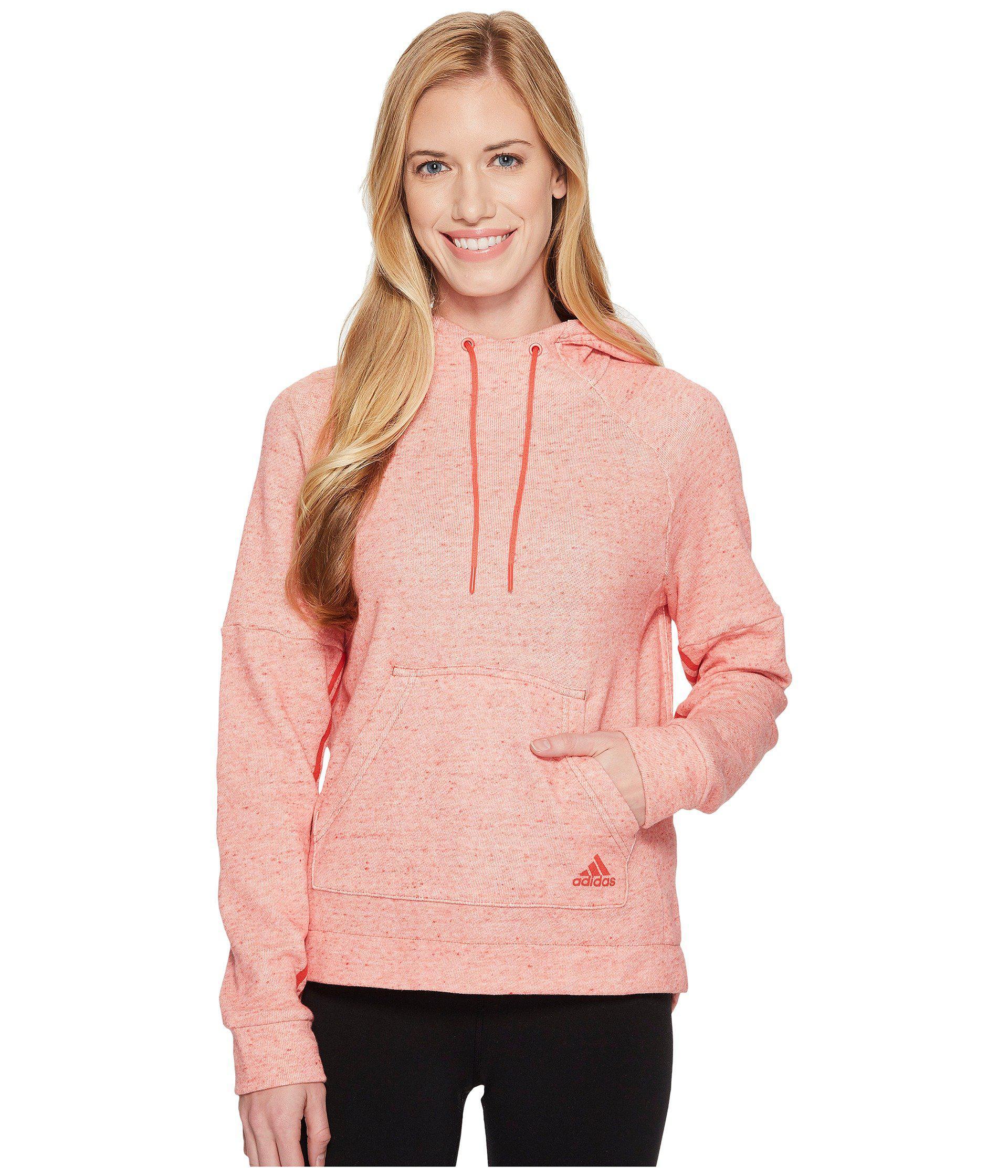 Lyst Rosa Adidas Sport2street Pullover Felpa Rosa Lyst 56820a