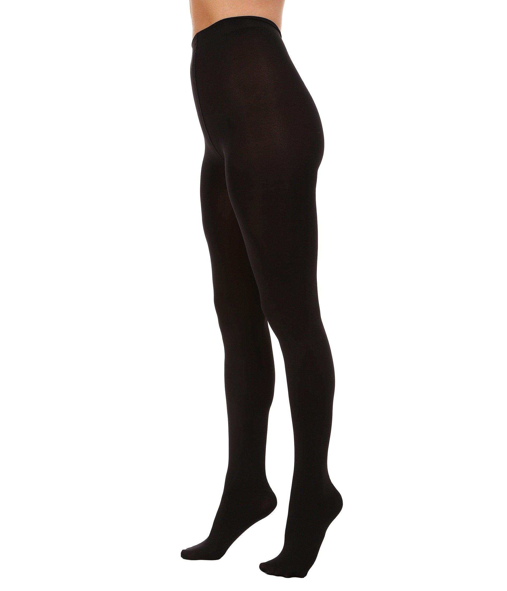 9e07ea7ee32 Lyst - Hue Heat Temp Tights 2-pack (graphite Heather black) Hose in Black -  Save 77%