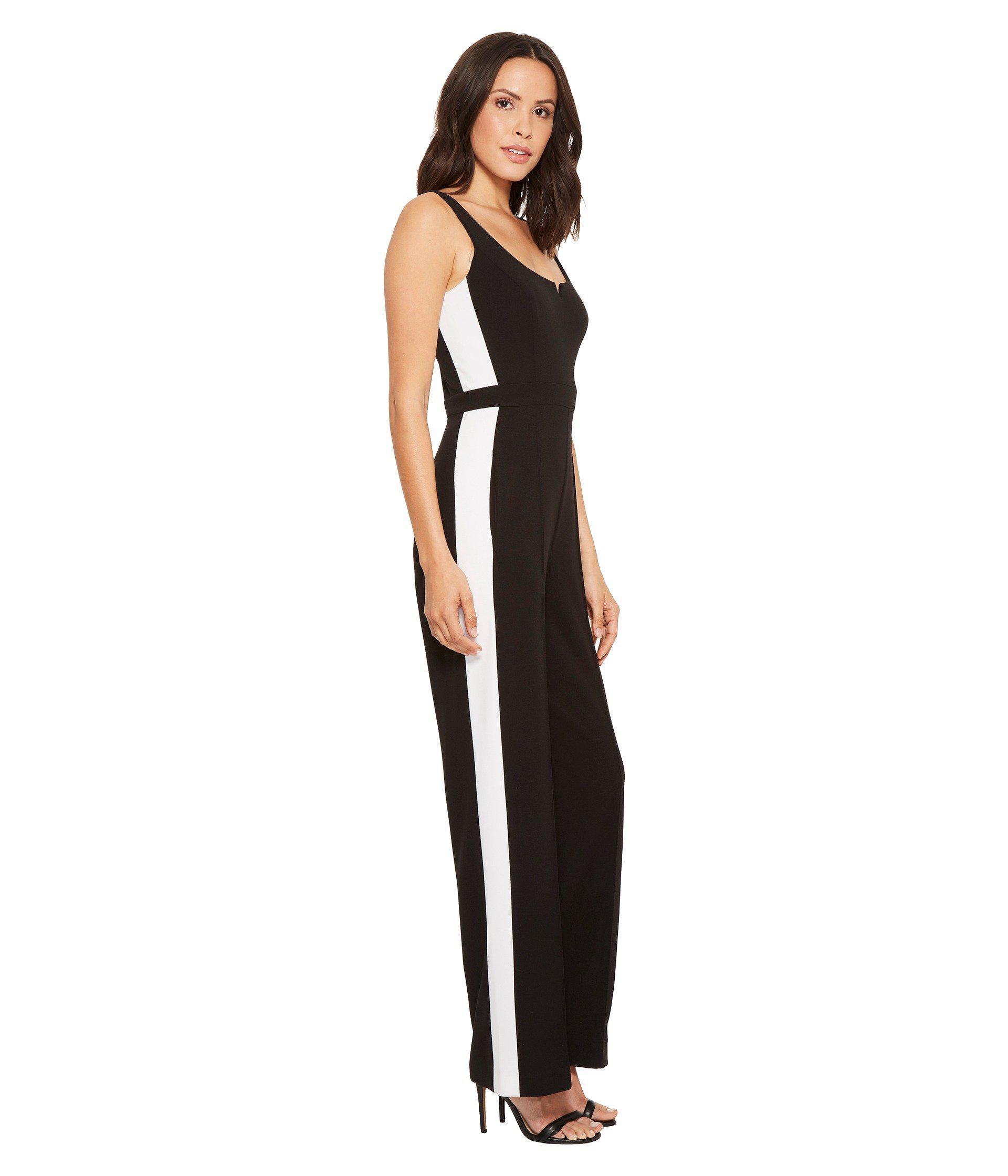 0d7e398752b Lyst - Donna Morgan Jumpsuit in Black
