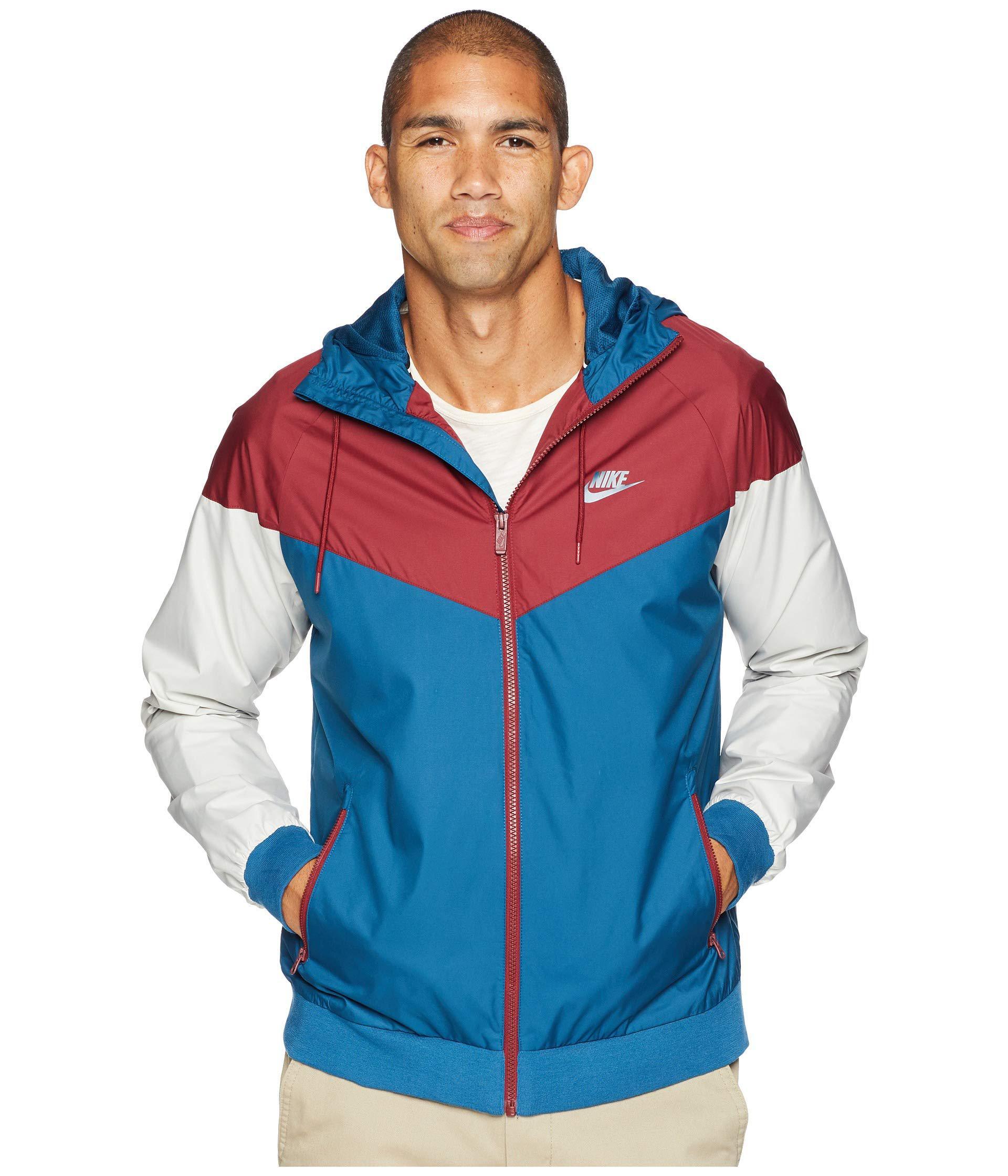 cacbc7c7de Lyst - Nike Sportwear Windrunner Jacket in Blue for Men - Save 8%