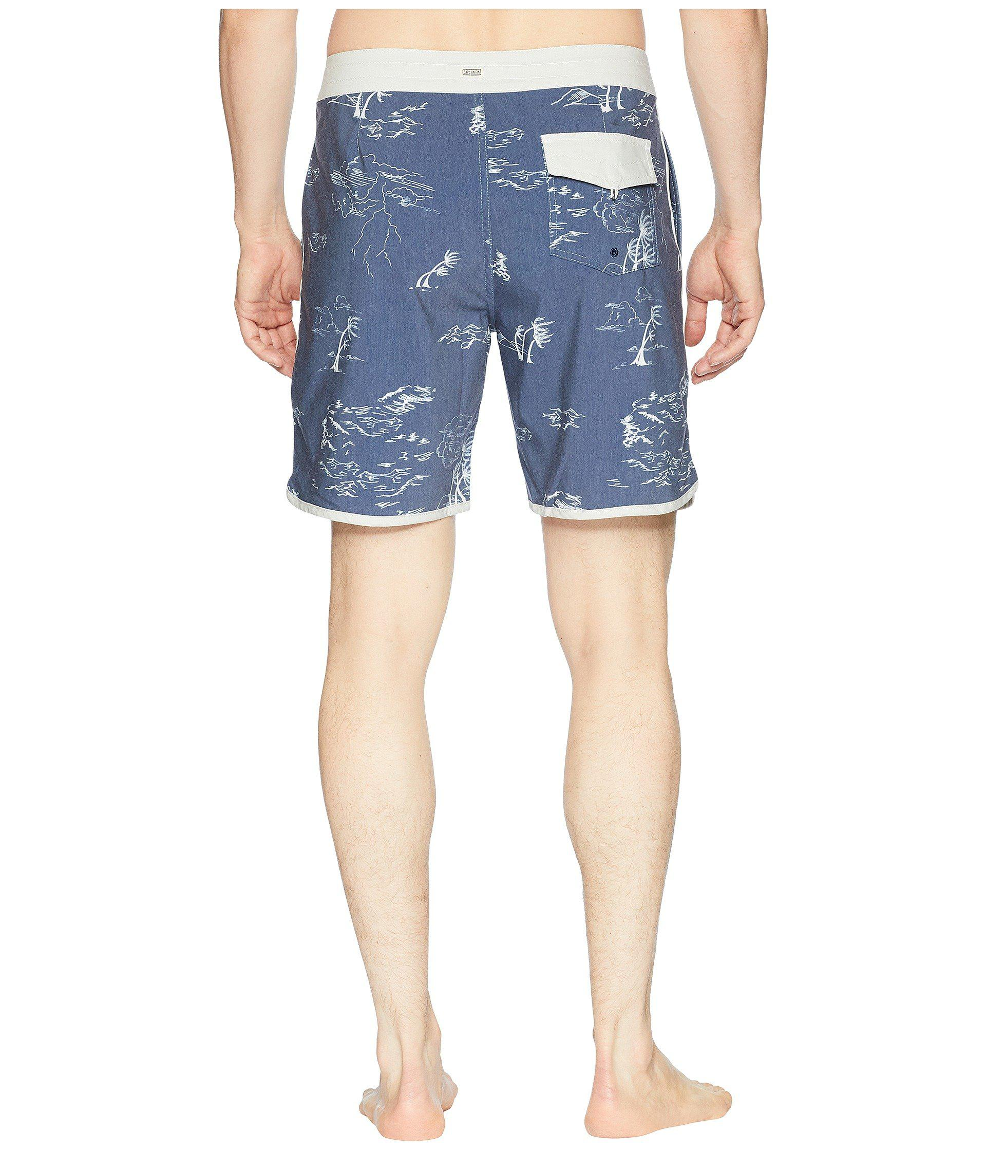 9c188b2fd3 Captain Fin Stormin The Sea Boardshorts in Blue for Men - Lyst