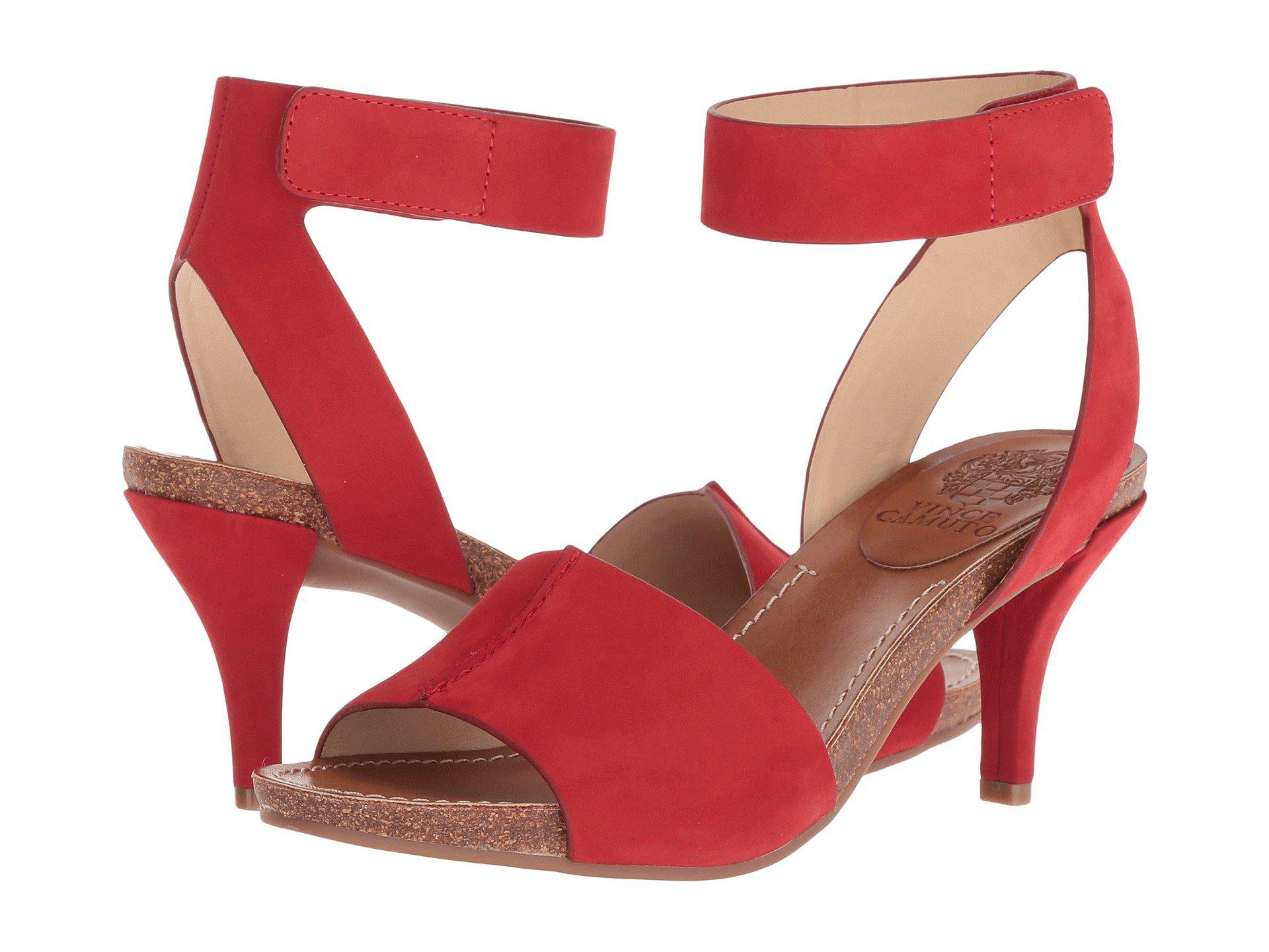 19de22583c78 Lyst - Vince Camuto Odela in Red