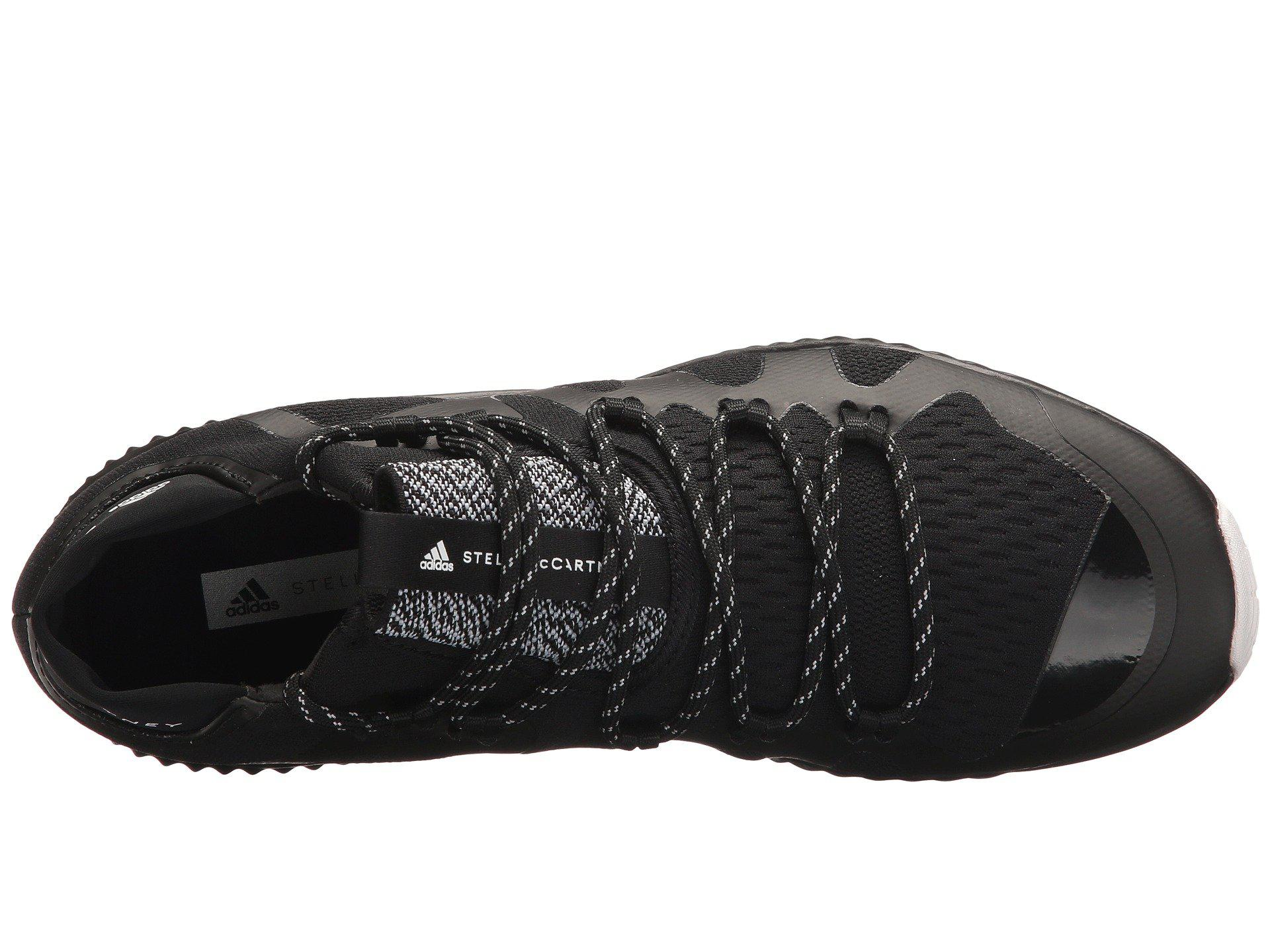 super popular 3a6aa c2718 Adidas By Stella McCartney - Black Crazytrain Bounce Mid - Lyst. View  fullscreen
