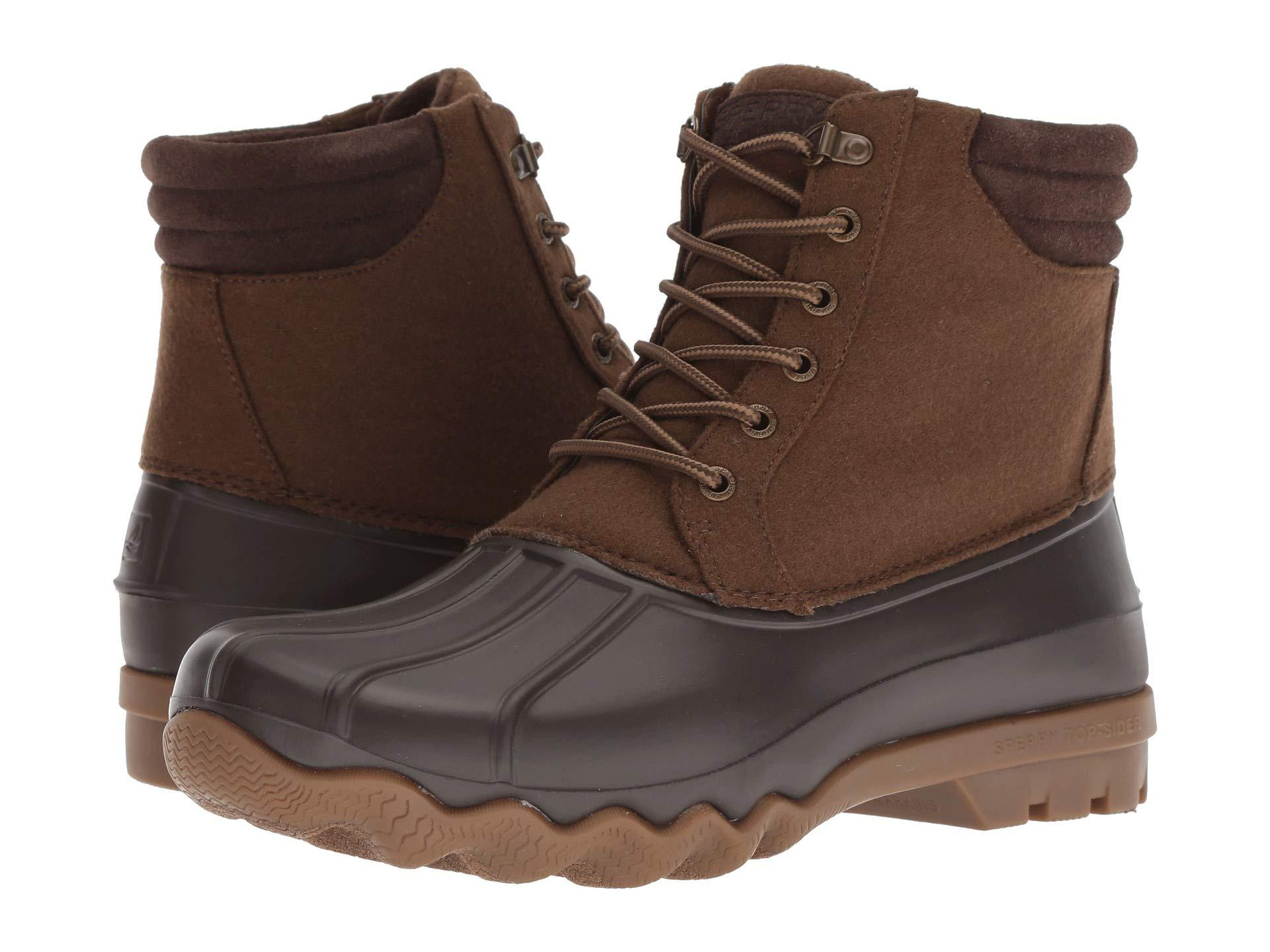 0fe1159f1 Lyst - Sperry Top-Sider Avenue Duck Wool in Brown for Men - Save 60%