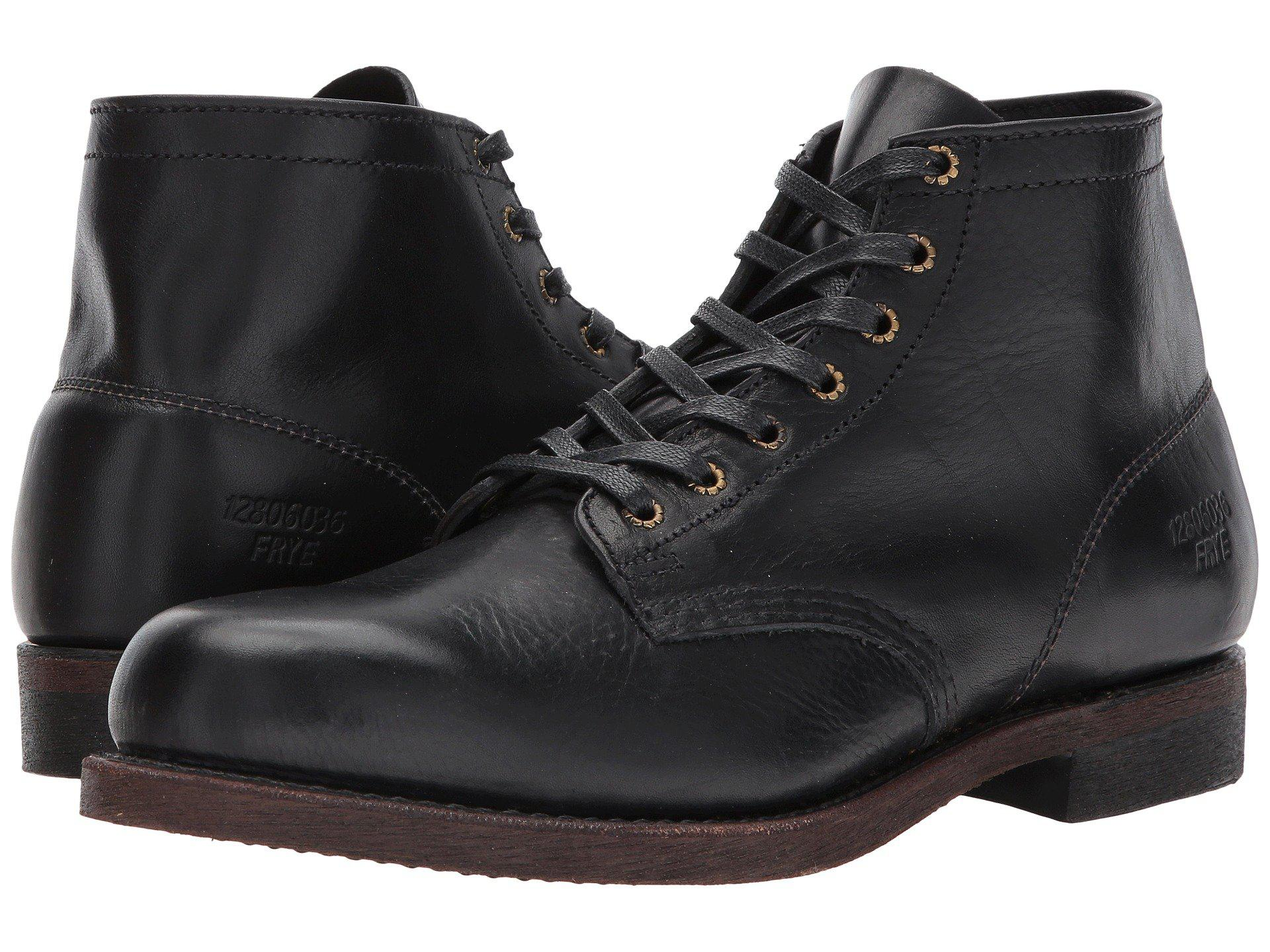1158b7b7f31a39 Lyst - Frye Prison Boot in Black for Men - Save 40%