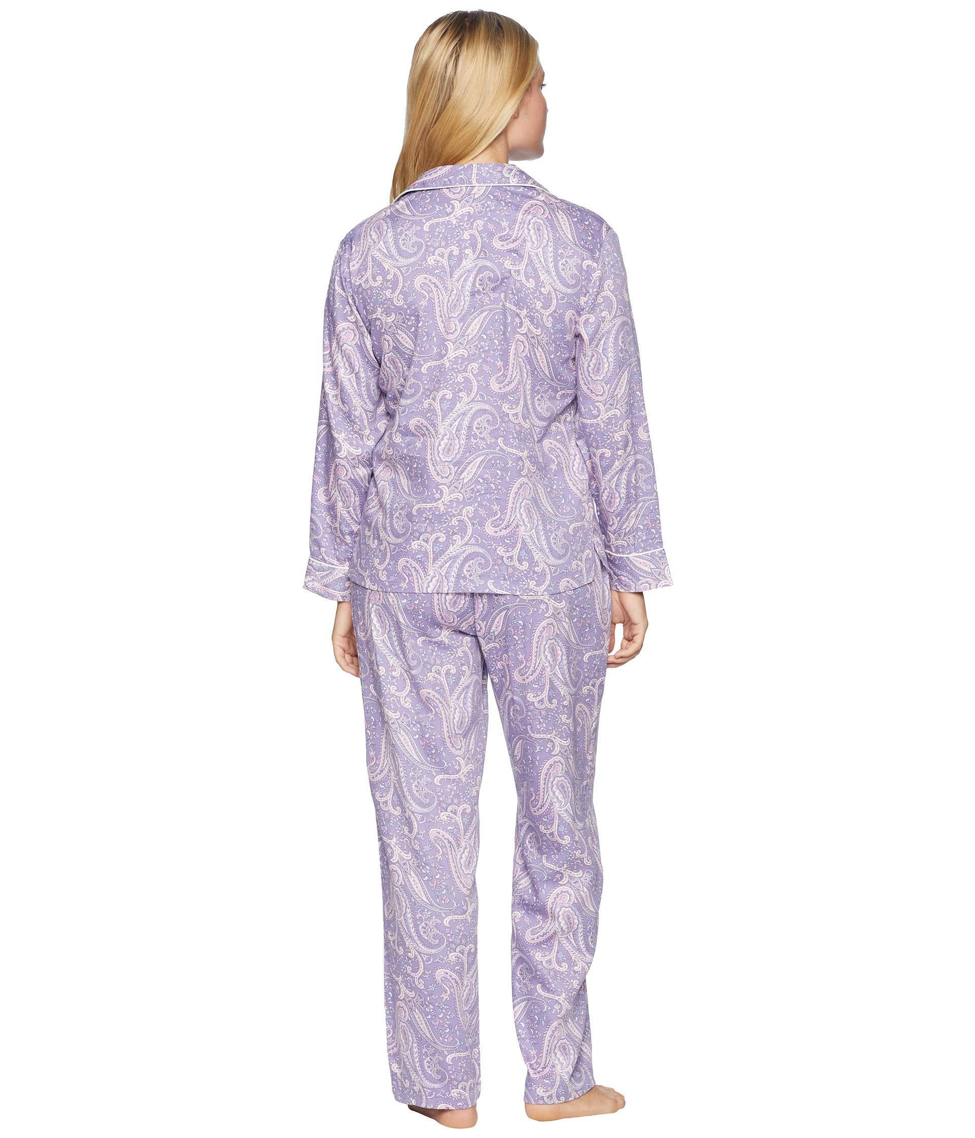 d019f515e77c Lyst - Lauren by Ralph Lauren Petite Classic Woven Long Sleeve ...