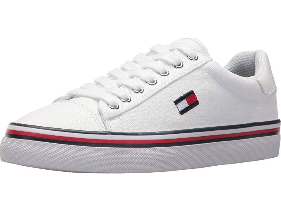 03d69b28 Tommy Hilfiger - Fressian (white Multi Fabric) Shoes - Lyst. View fullscreen
