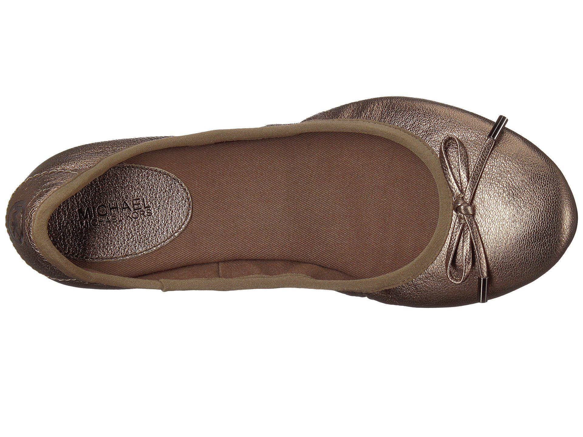 7b14a5c0977d Lyst - MICHAEL Michael Kors Mk City Ballet in Brown