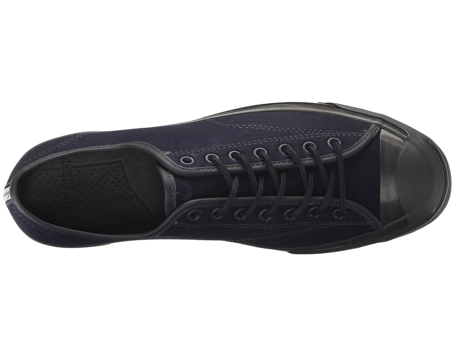 Lyst - Converse Jack Purcell® Signature Shield Canvas Ox in Black ... d7bfd395d